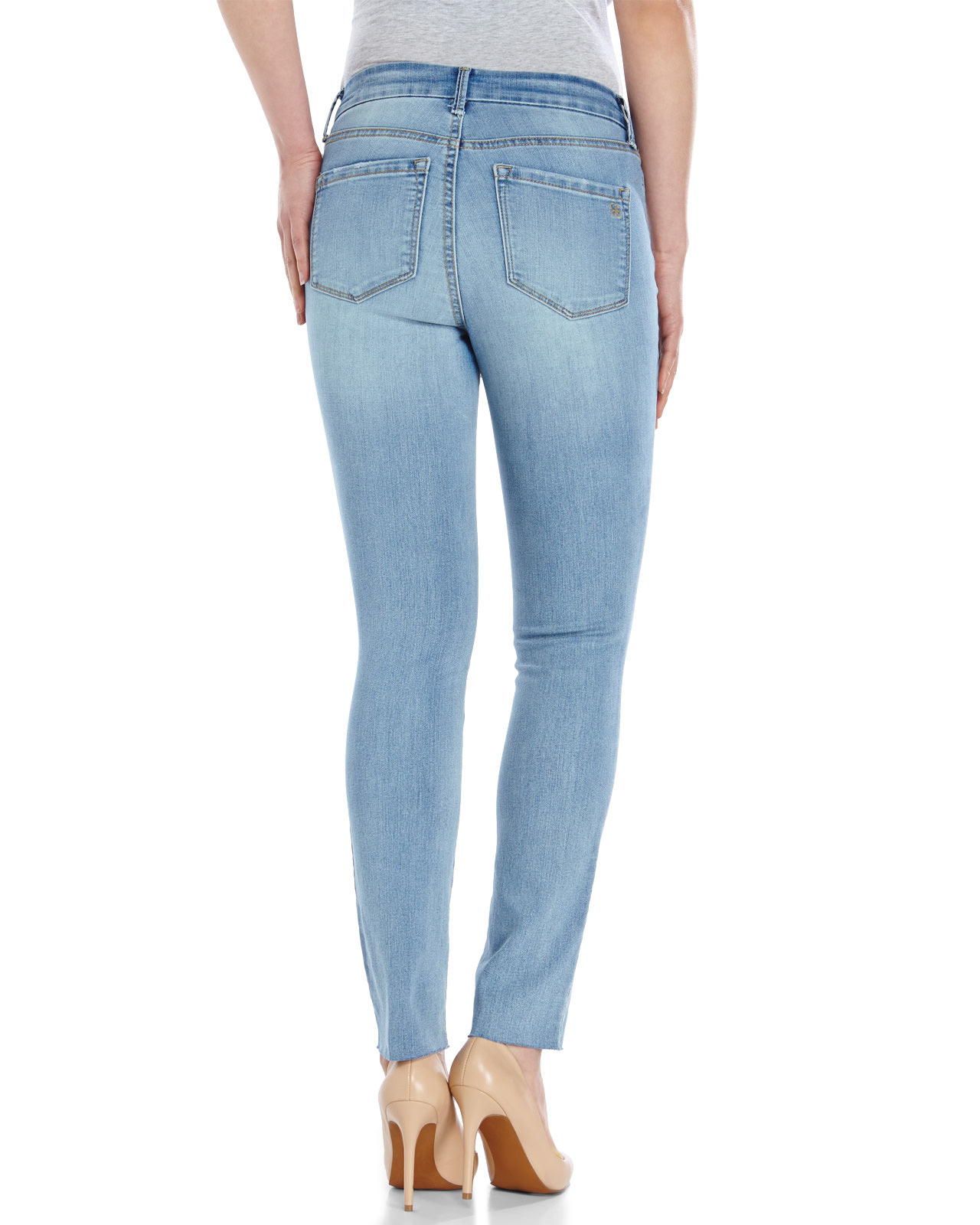 0c9f0692e18be Lyst - Jessica Simpson Uptown High Rise Jeans in Blue