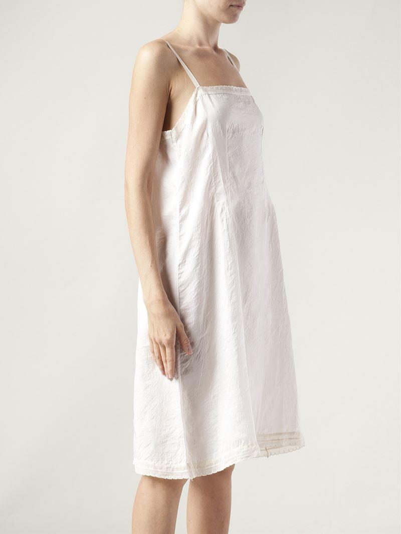 1b06bc5619f3 Dosa Chemise Slip Dress in White - Lyst