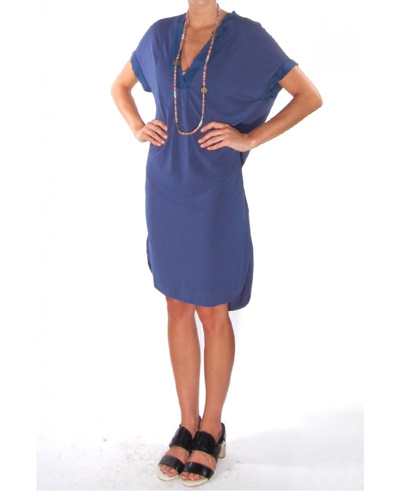 d7e272fbbf8 By Malene Birger Minose Jersey Dress in Blue - Lyst