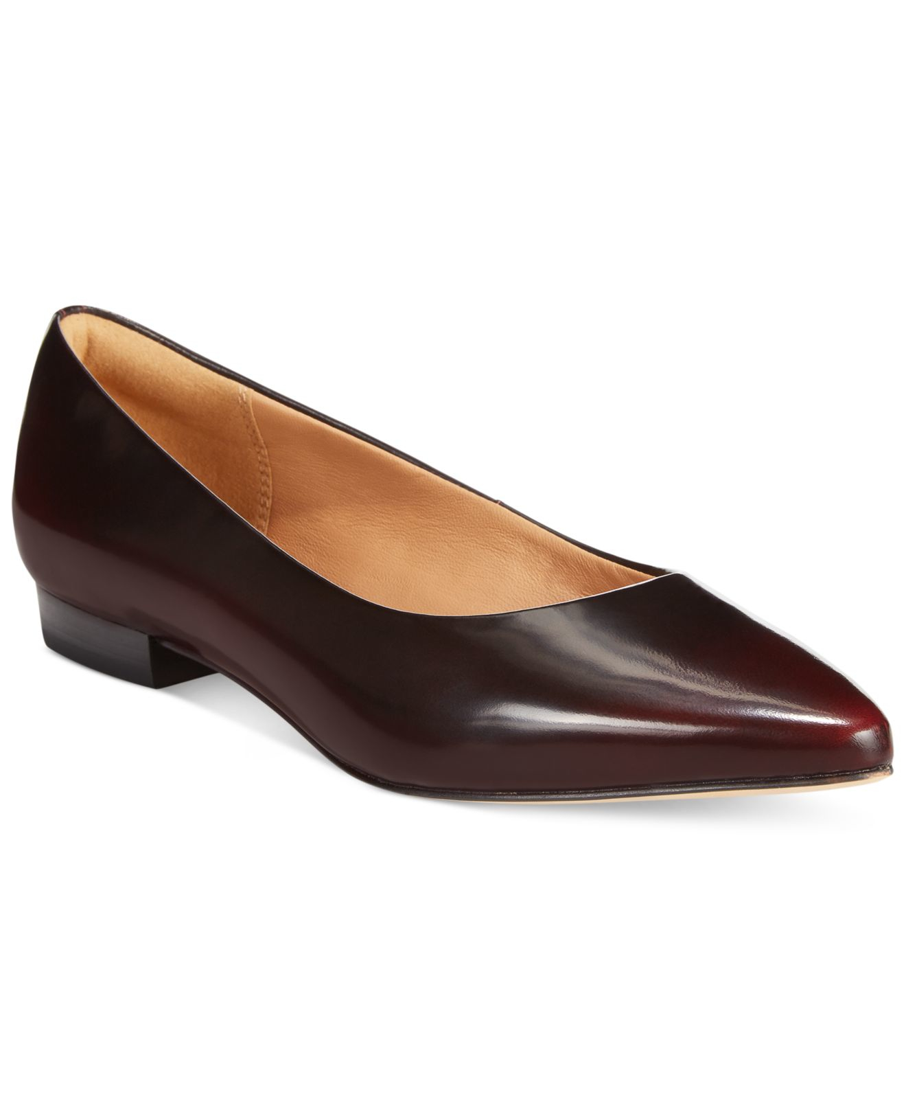 Womens Shoes Clarks Corabeth Abby Burgundy Leather