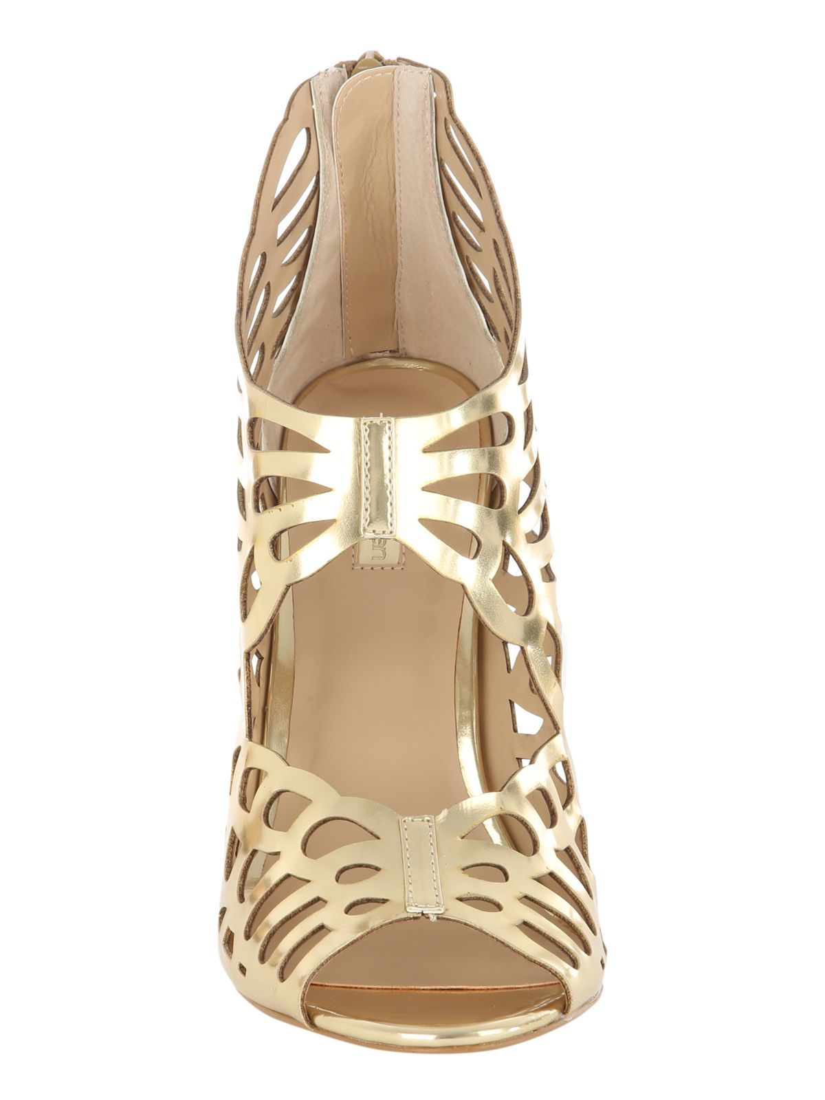 Gallery. Previously sold at: House of Fraser · Women's Gold Sandals ...