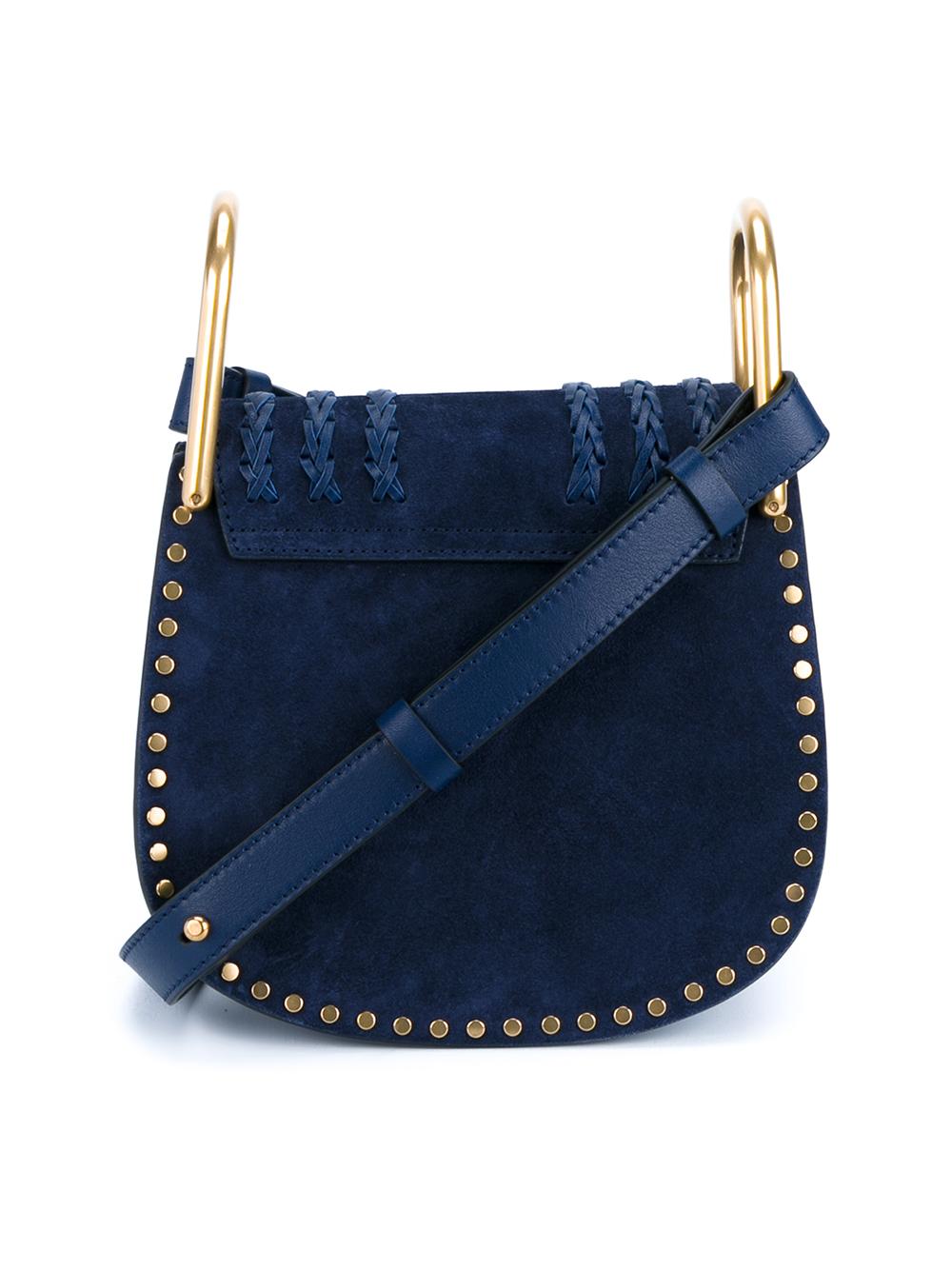 chloe replicas - Chlo�� Mini \u0026#39;hudson\u0026#39; Crossbody Bag in Blue | Lyst