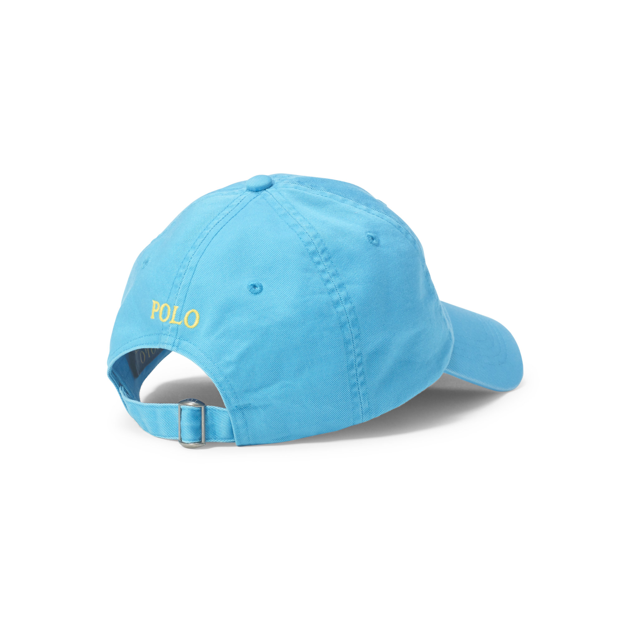 61dd4ab500be Lyst - Polo Ralph Lauren Cotton Chino Baseball Cap in Blue for Men