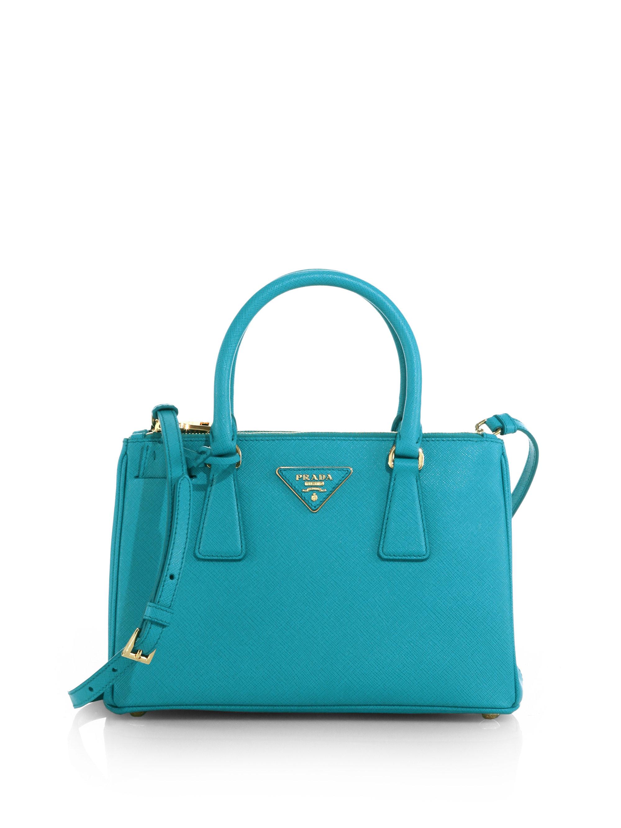 629db48fd Prada Saffiano Lux Small Double-zip Tote Bags | Stanford Center for ...