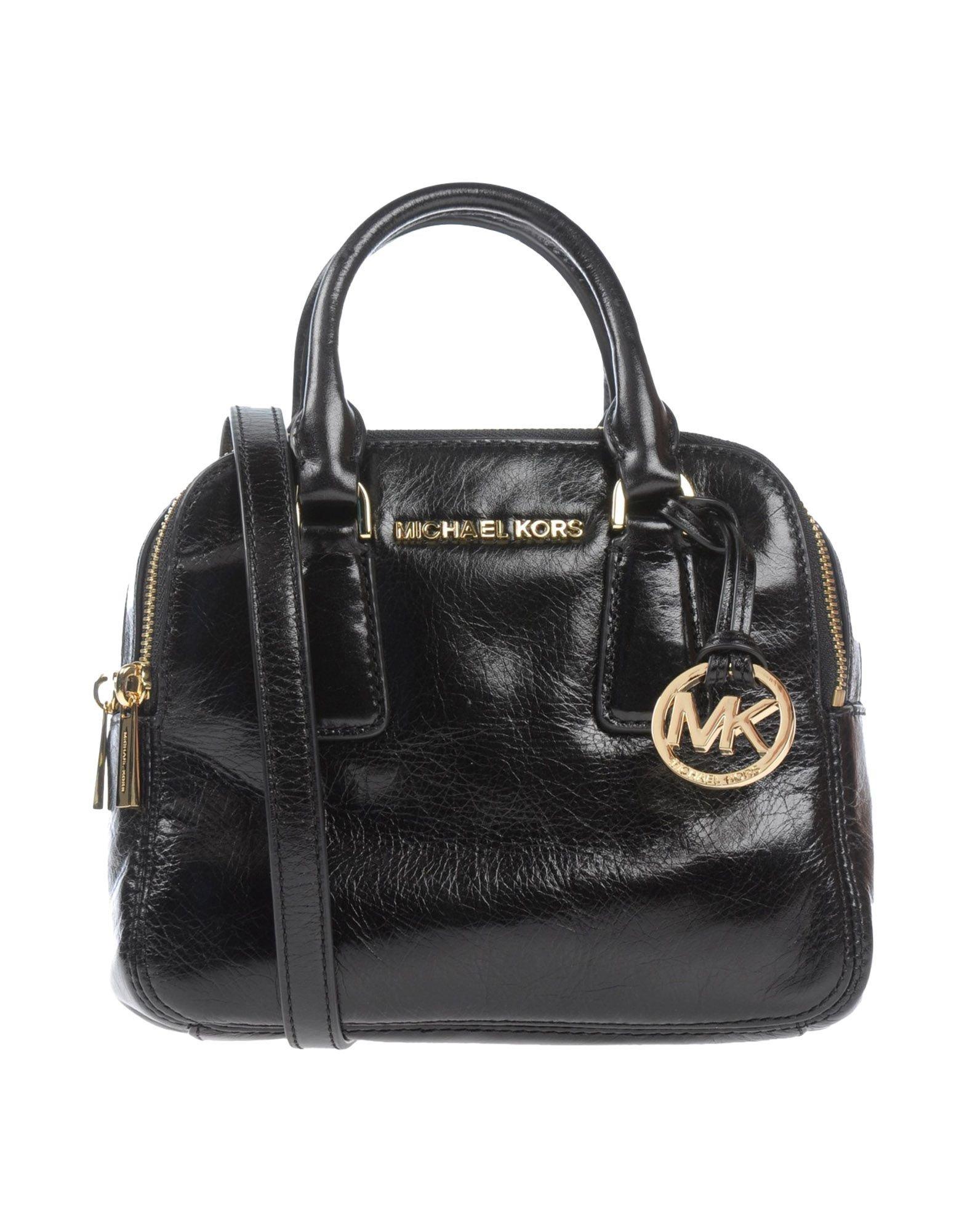 michael michael kors handbag in black lyst. Black Bedroom Furniture Sets. Home Design Ideas
