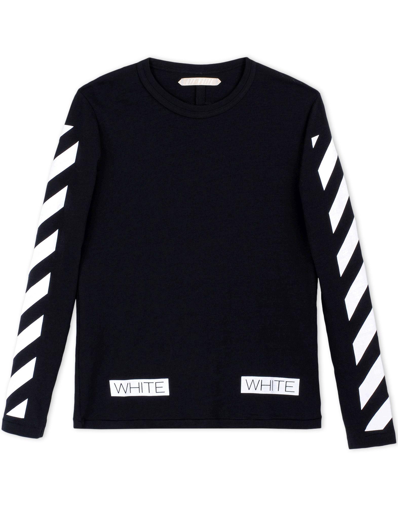 Black White Long Sleeve Shirt | Artee Shirt