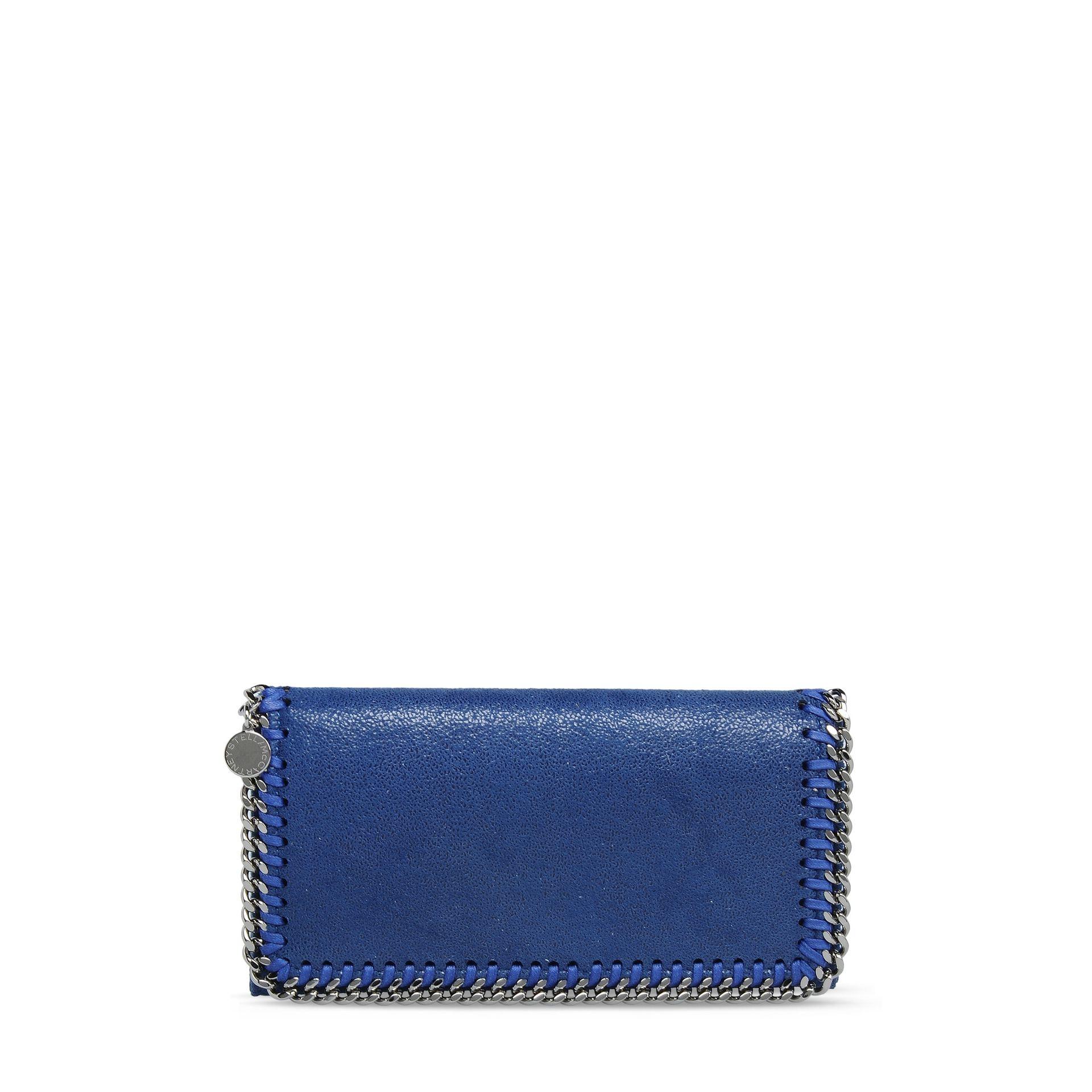 Falabella flap wallet - Blue Stella McCartney rXaRSLWq