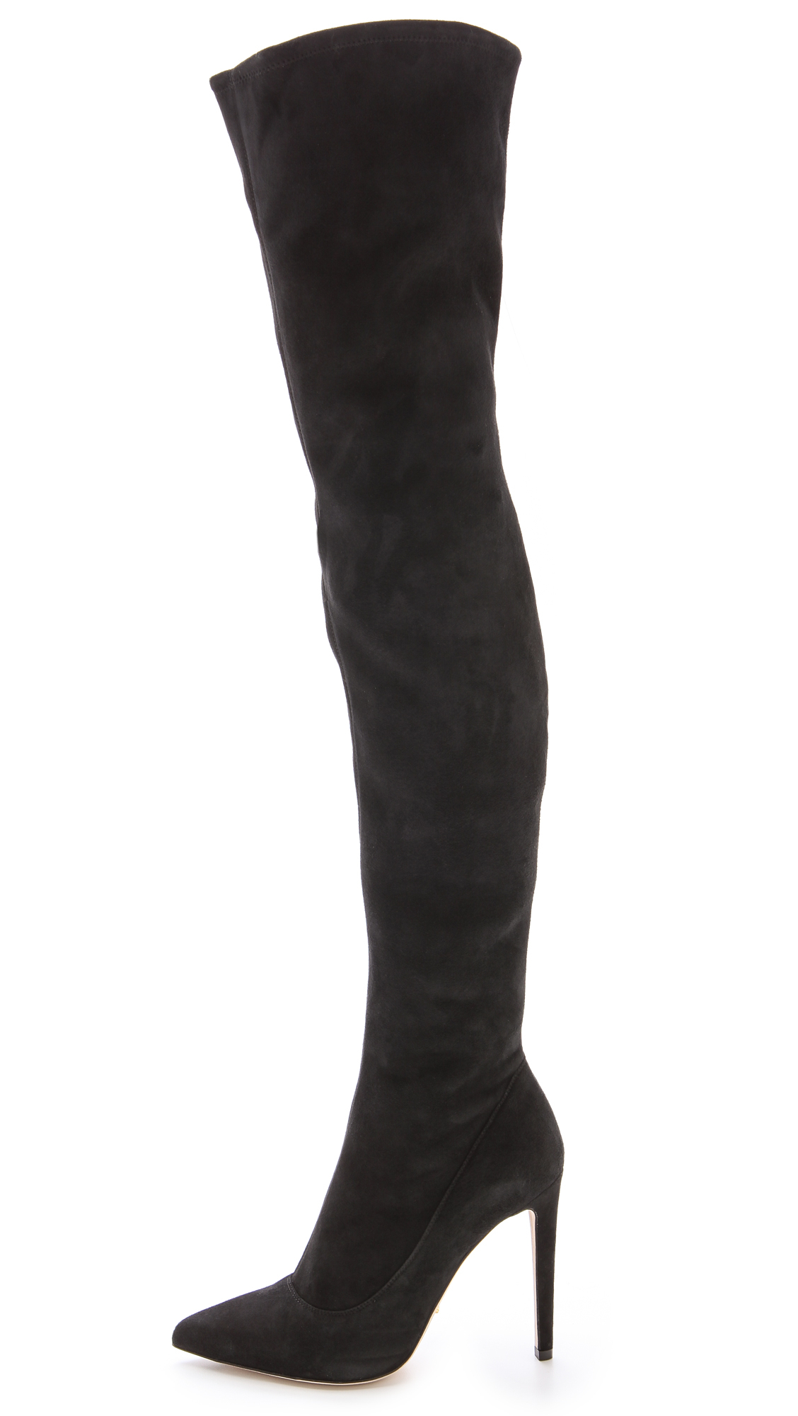 the knee black suede boots 28 images alexandre birman