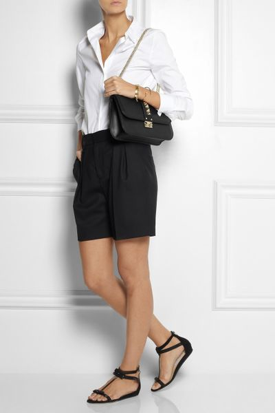 Valentino Shoulder Bag Black 34