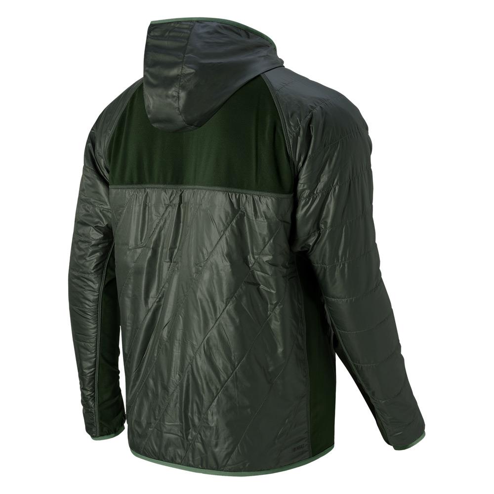 lyst new balance nb heat hybrid jacket in black for men. Black Bedroom Furniture Sets. Home Design Ideas