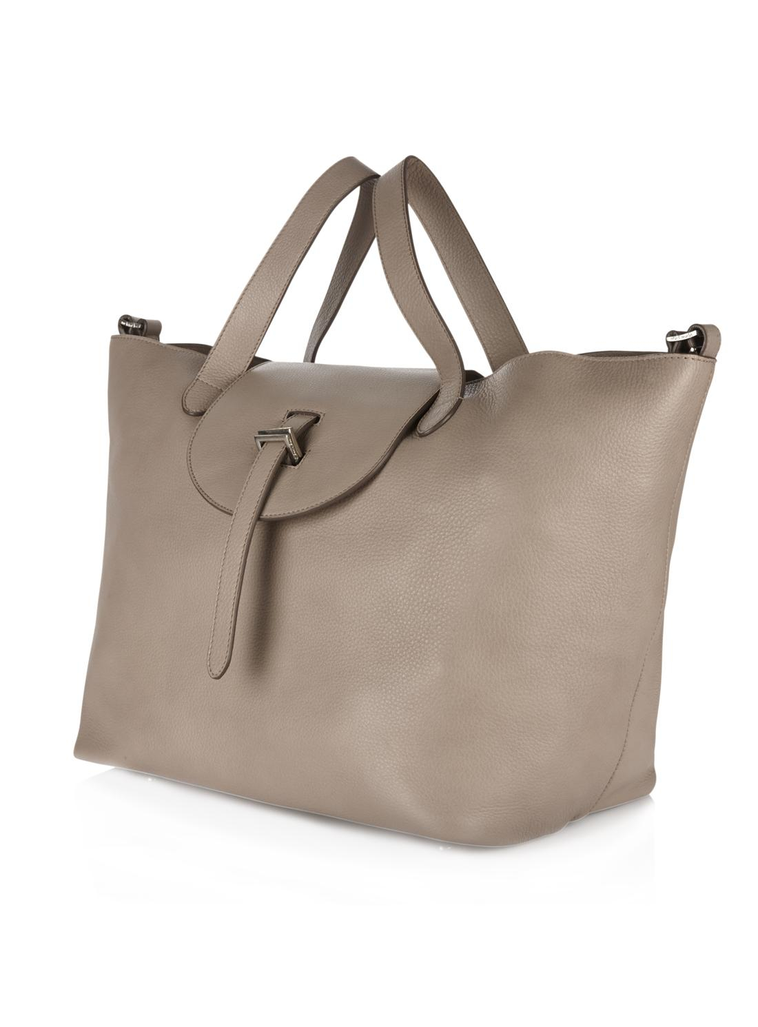 Meli melo Thela Classic Tote Bag In Taupe in Brown | Lyst