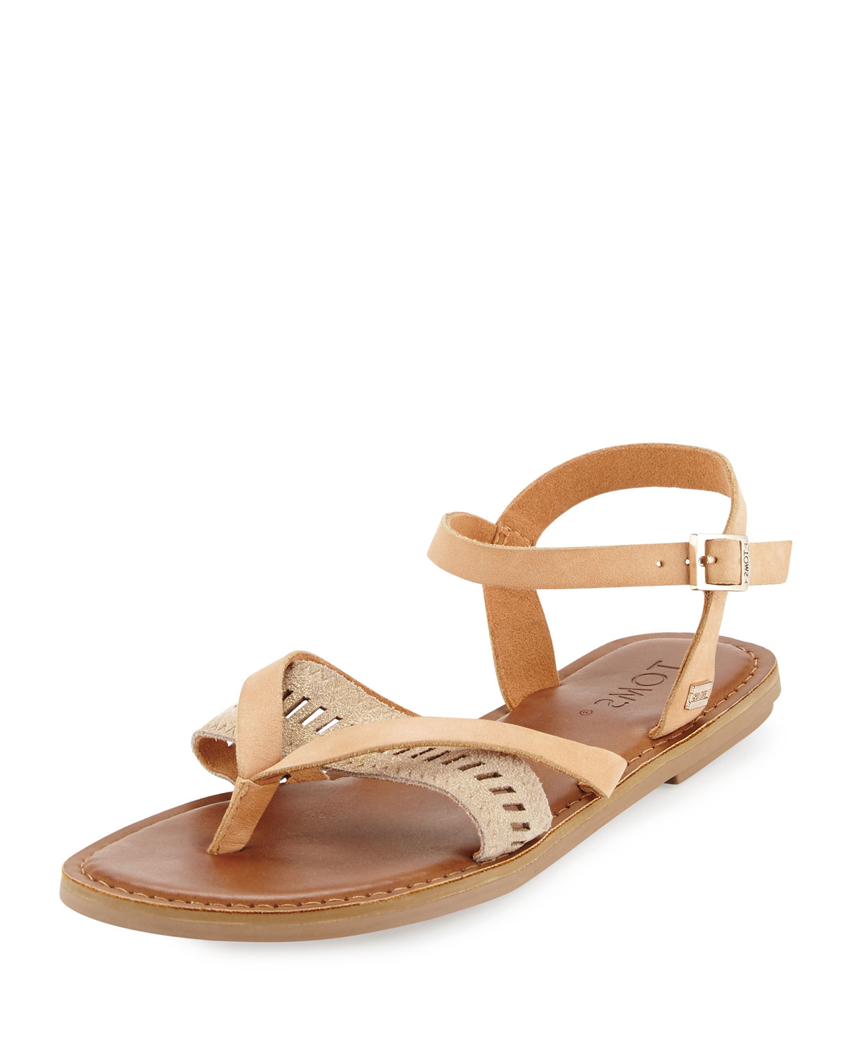 Toms Lexie Suede Sandals In Beige Natural Lyst