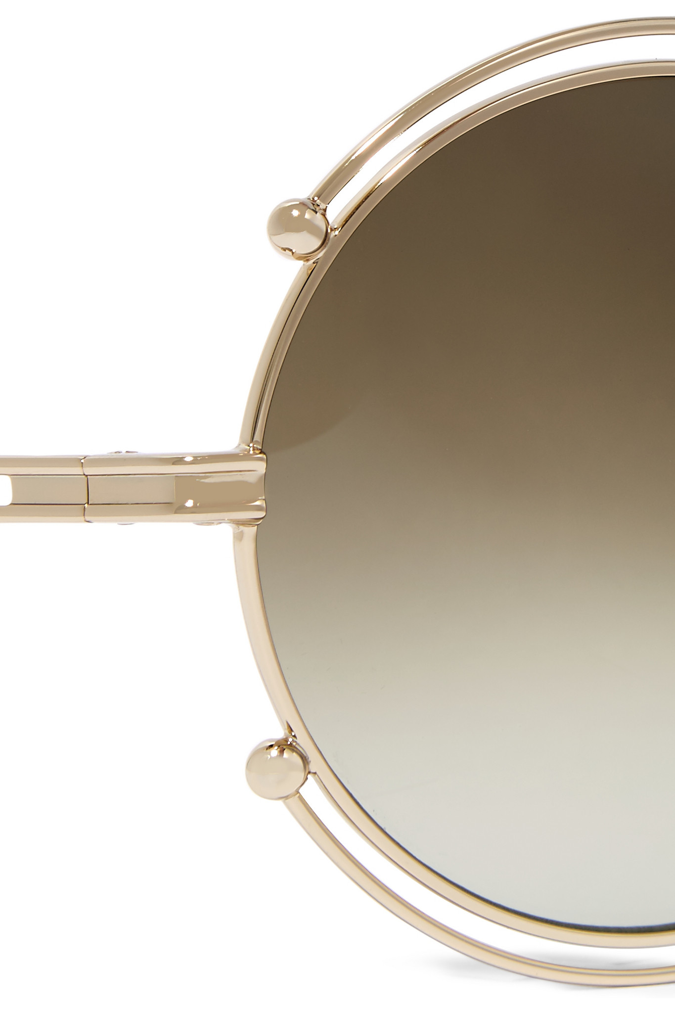 ecee724ded Ray-ban Round-frame Acetate And Gold-tone Sunglasses