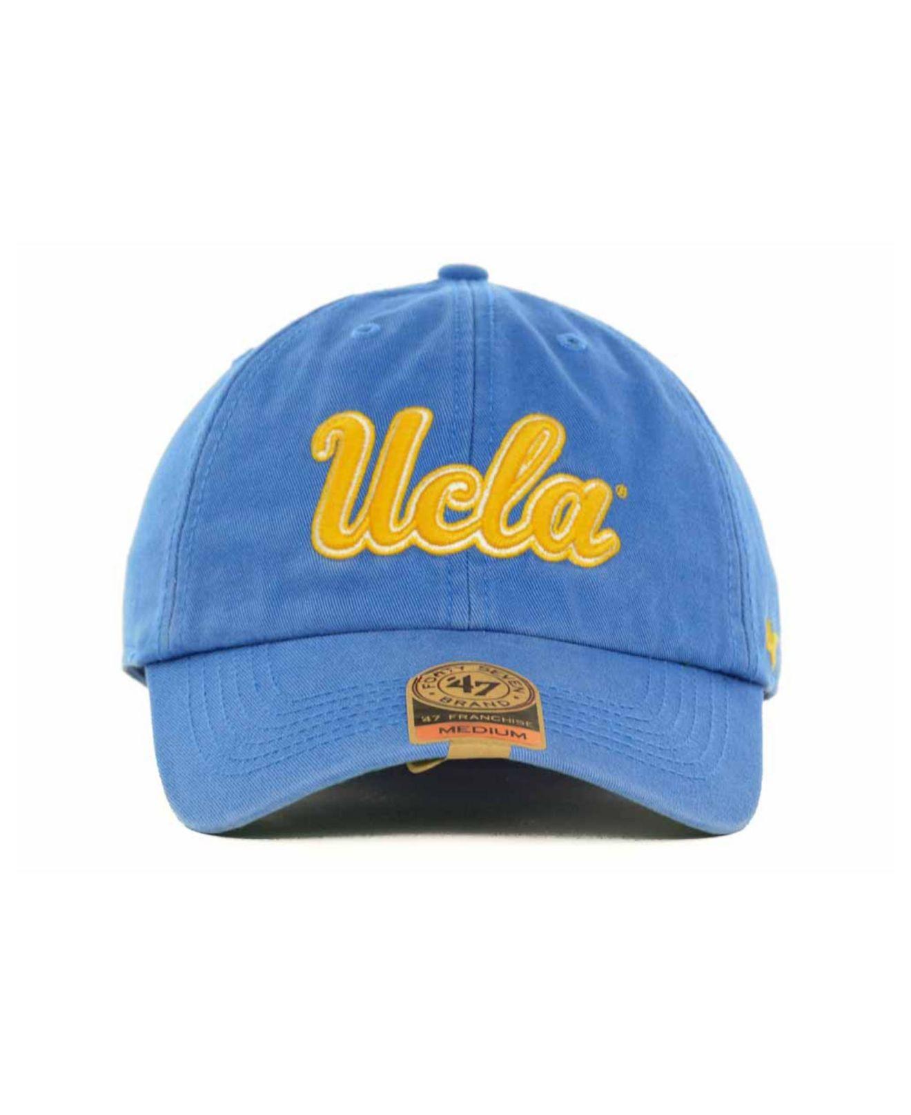 edf41967ca395 ... australia lyst 47 brand ucla bruins franchise cap in blue for men c655c  eda88