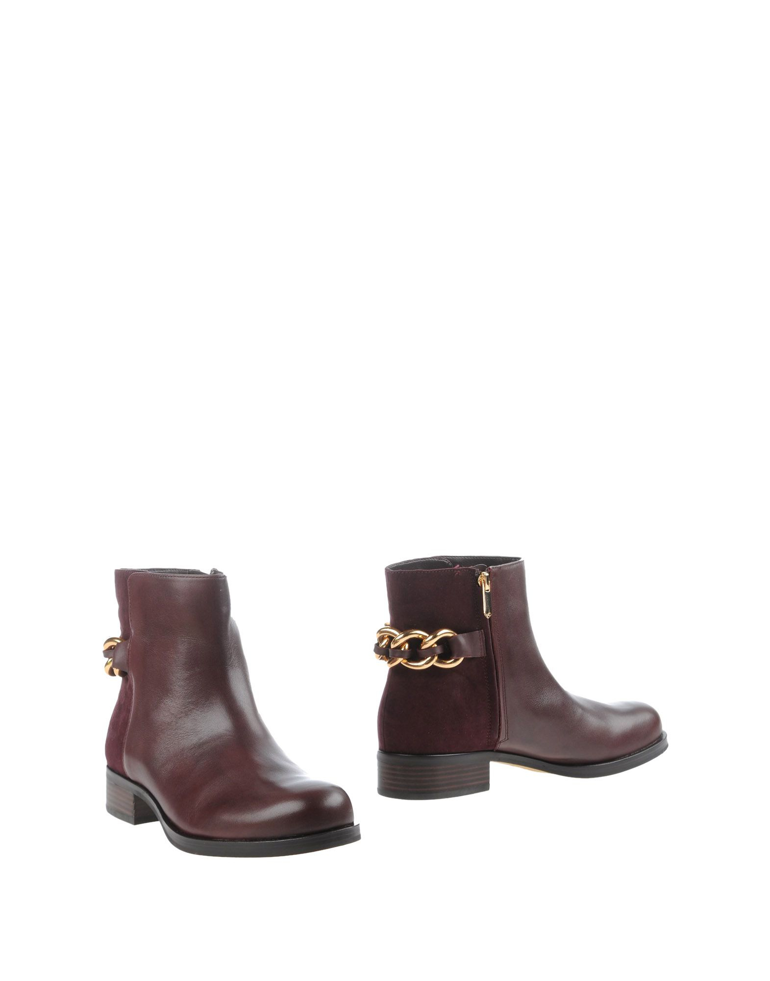 sam edelman ankle boots in purple lyst