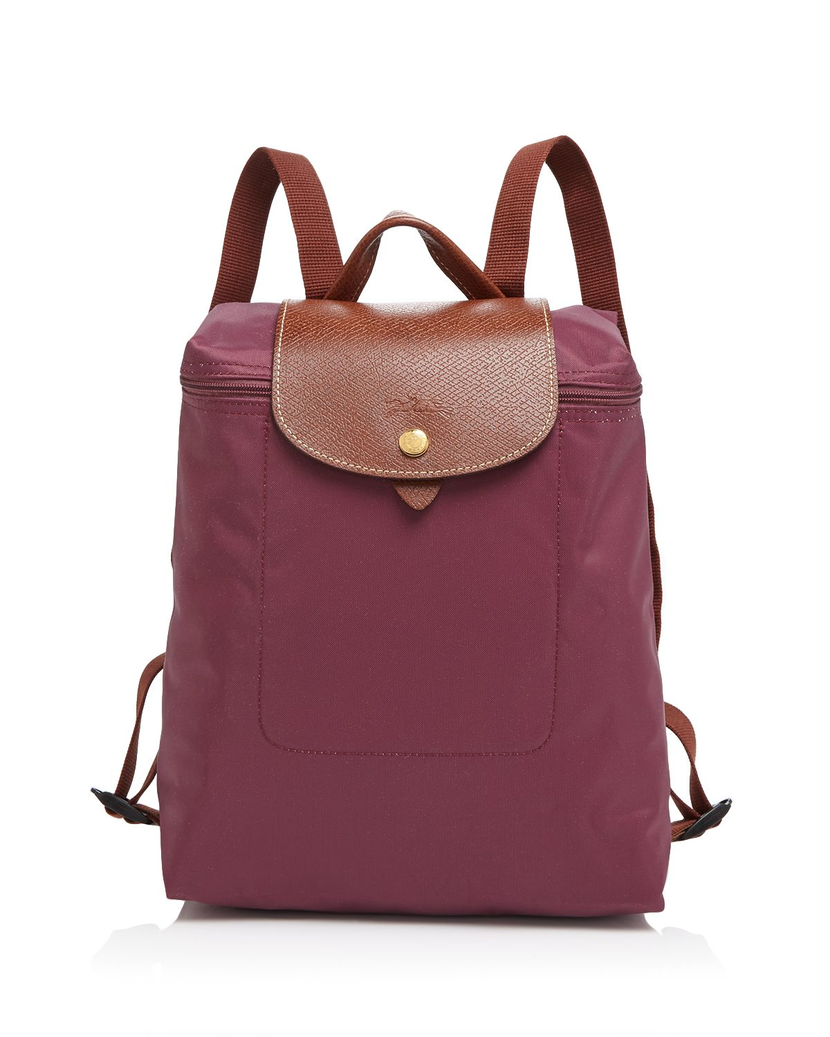 Longchamp Backpack Le Pliage In Purple Lyst