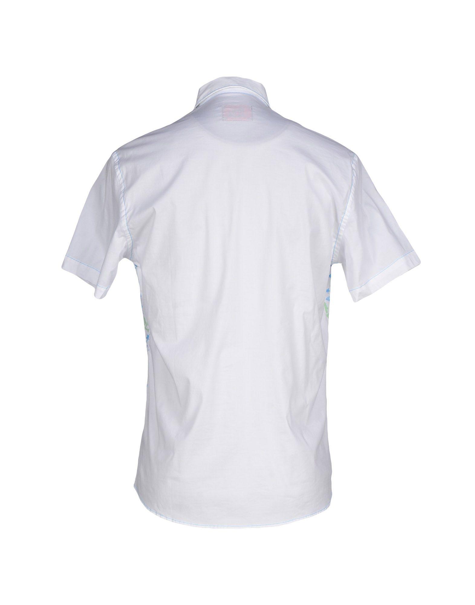 43453de88908 Evisu Shirt in White for Men - Lyst