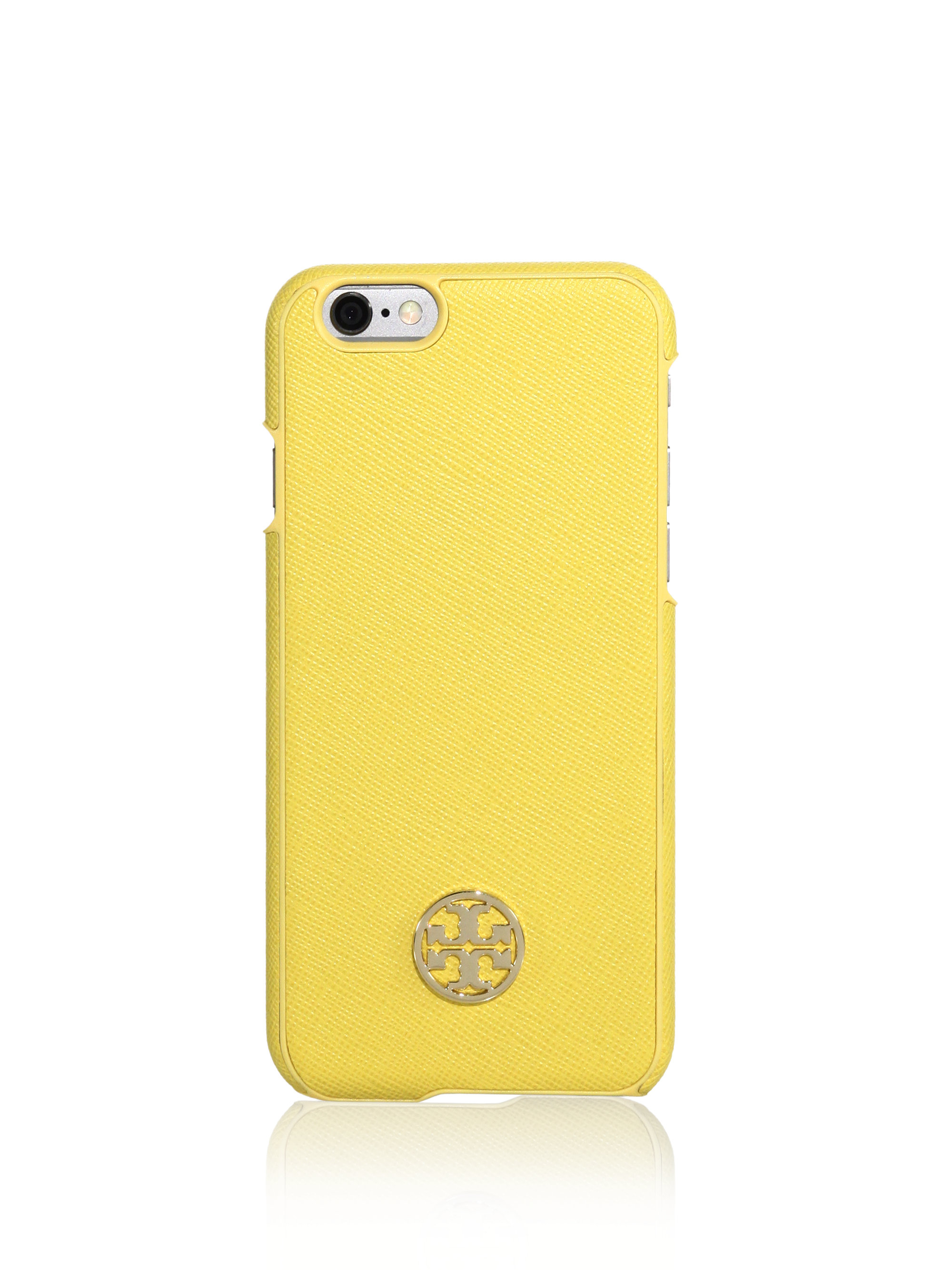 tory burch iphone case burch robinson iphone 6 in yellow lyst 5058