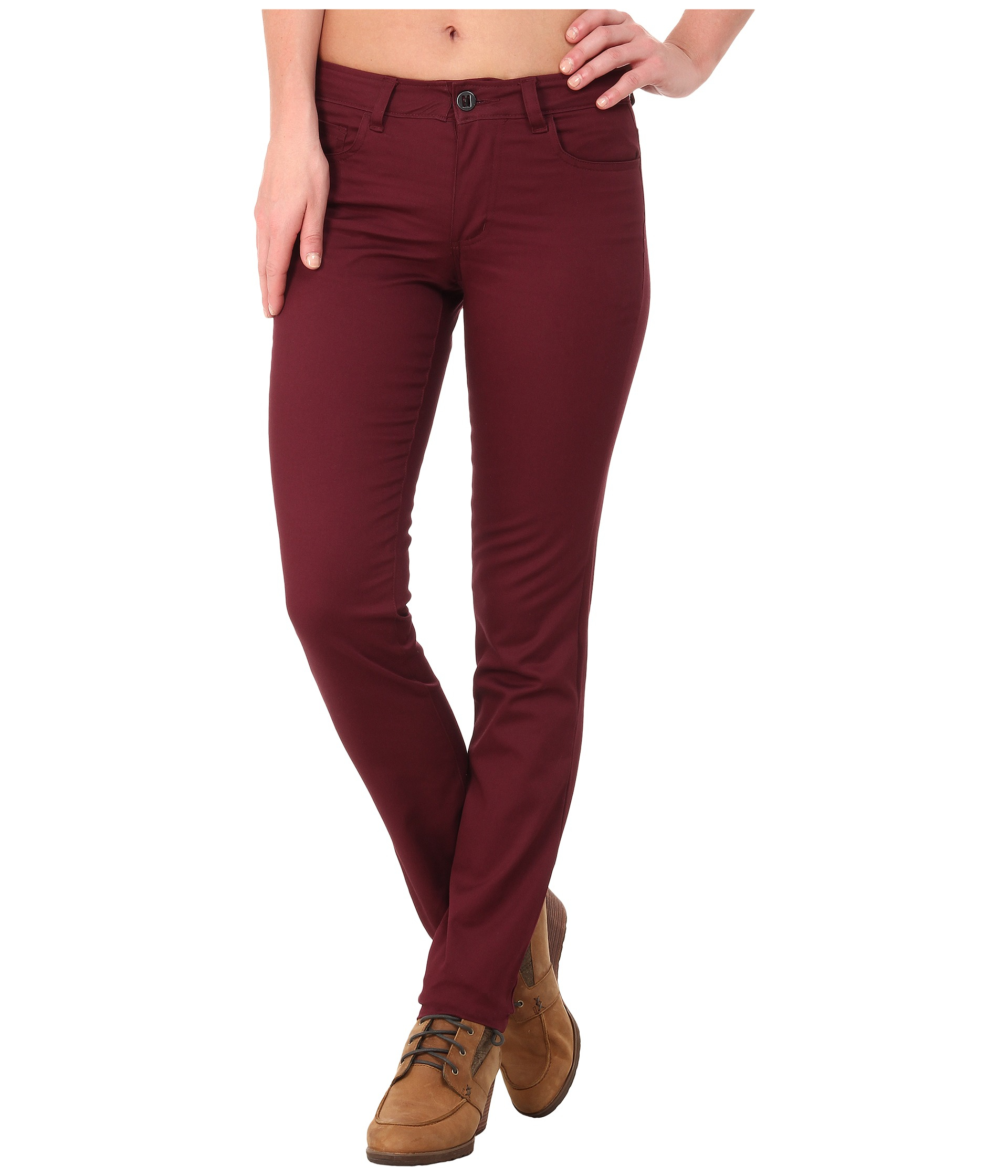 Black diamond Stretch Font Pants in Purple | Lyst