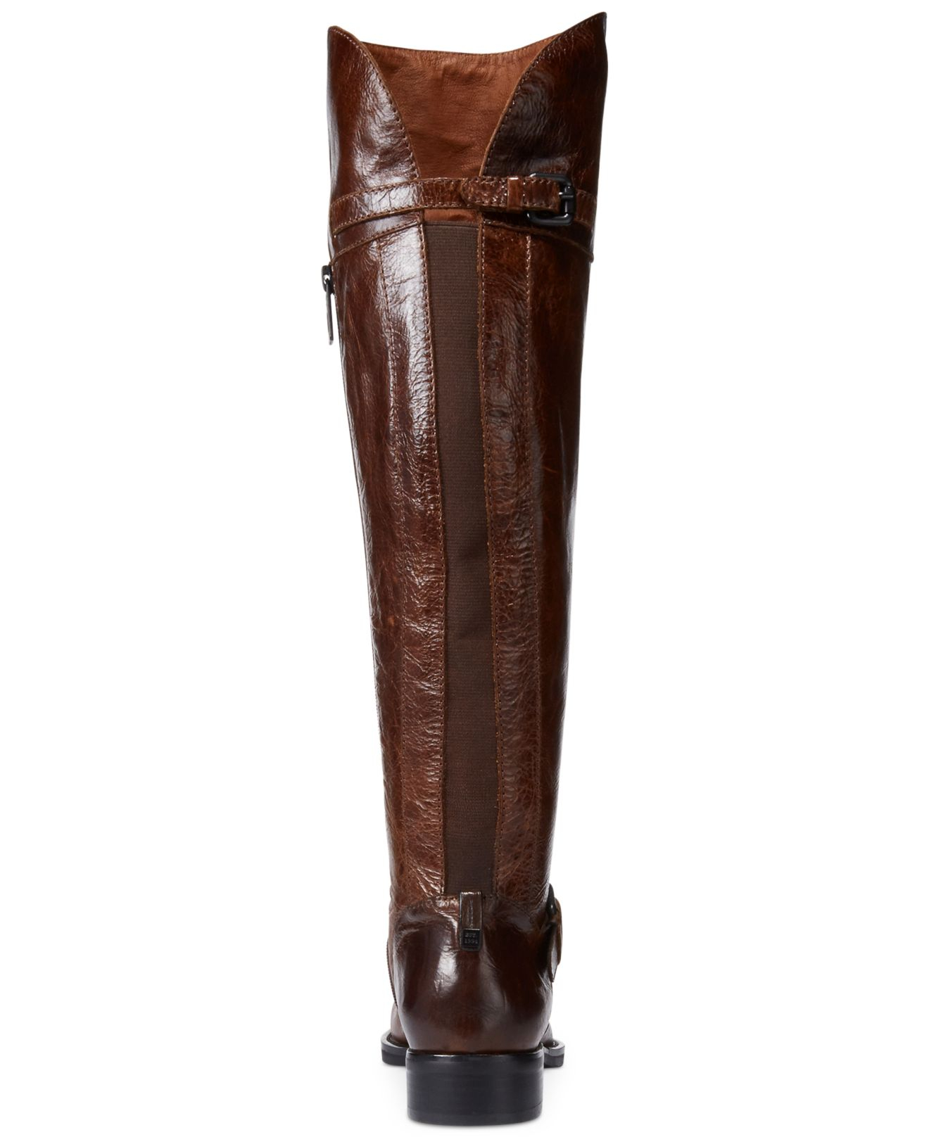 Rudsak Desdemona Over-The-Knee Riding Boots in Brown