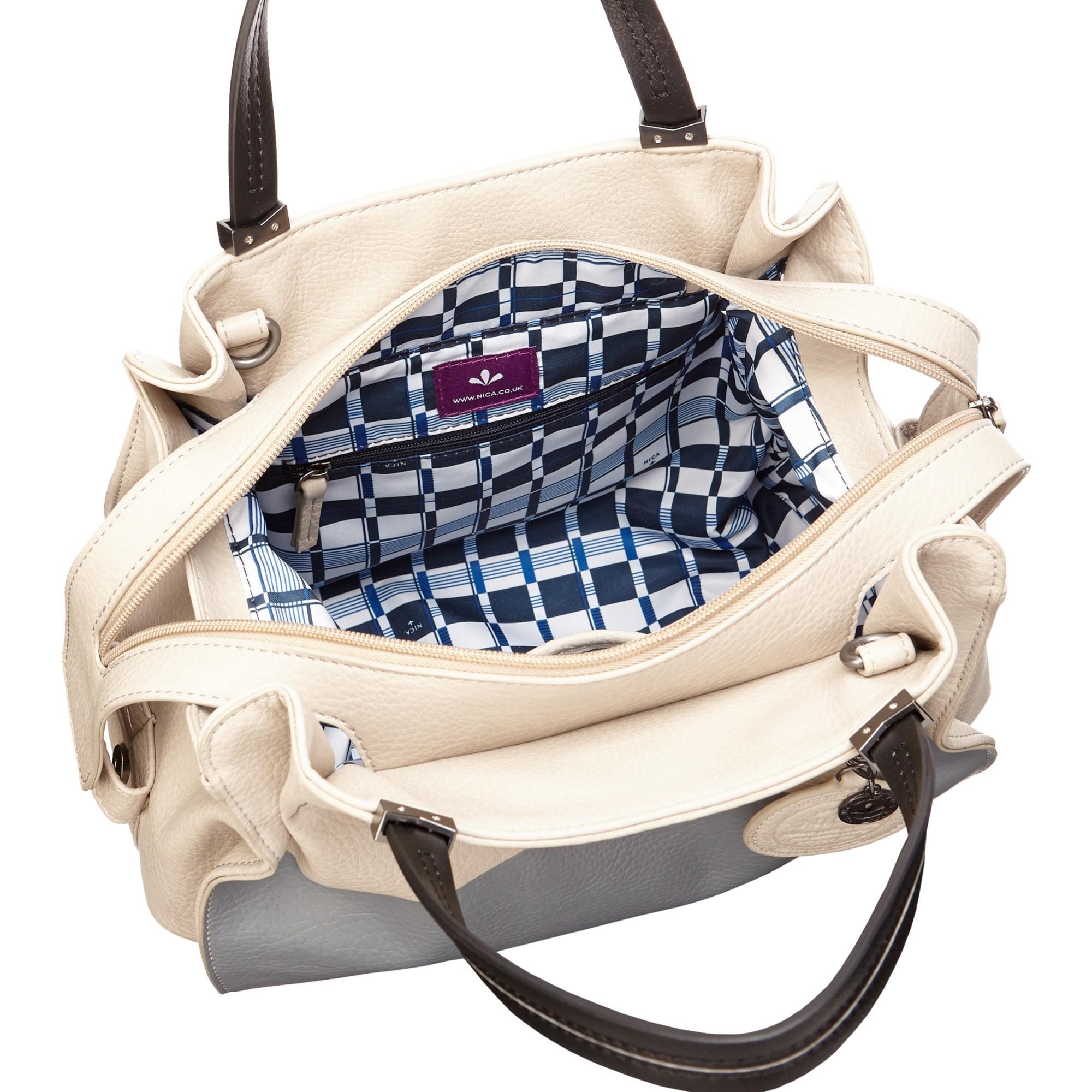1eb382597c6 Nica Ava Grab Bag in Gray - Lyst