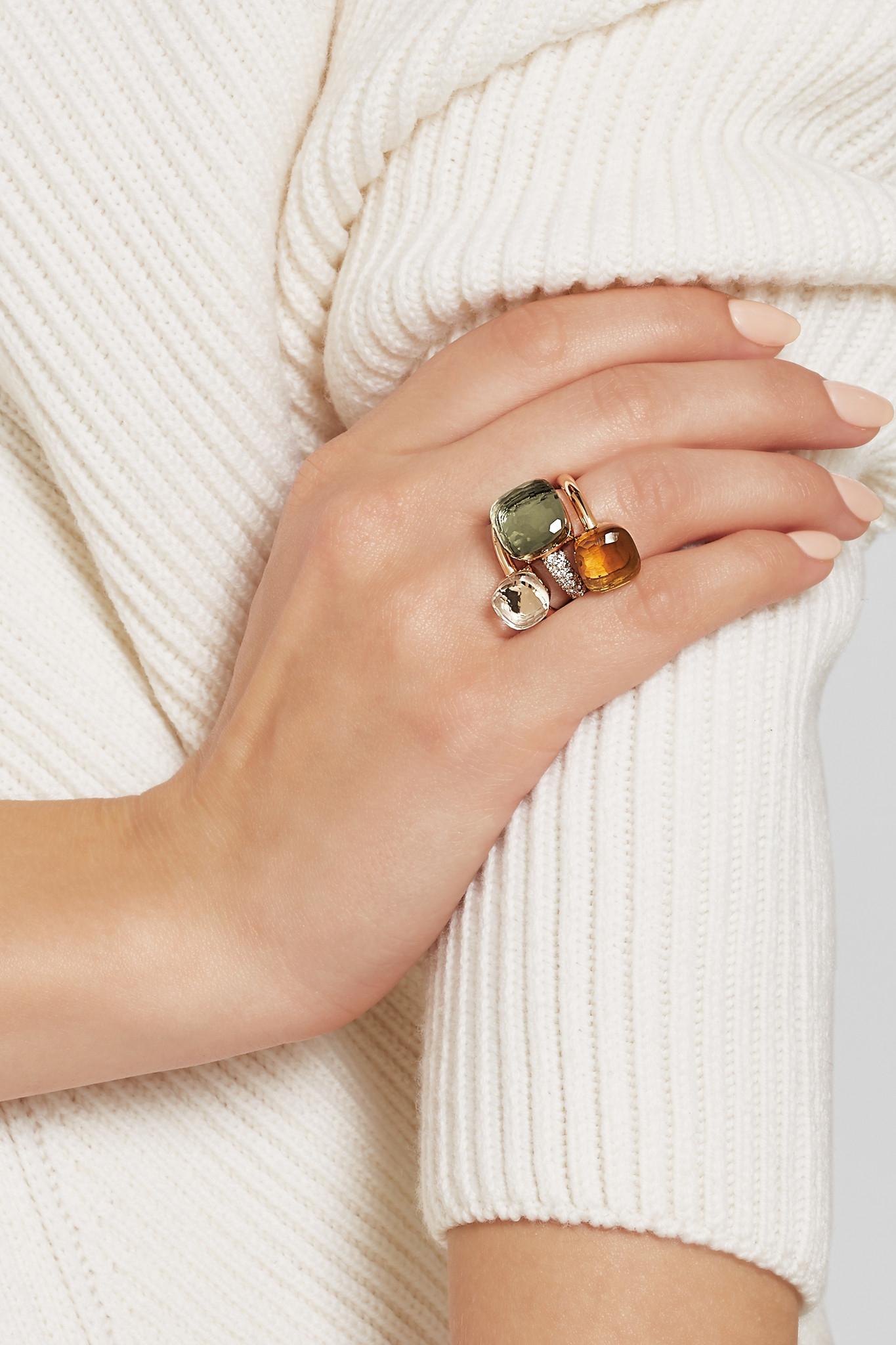 Karat Gold Sapphire Ring