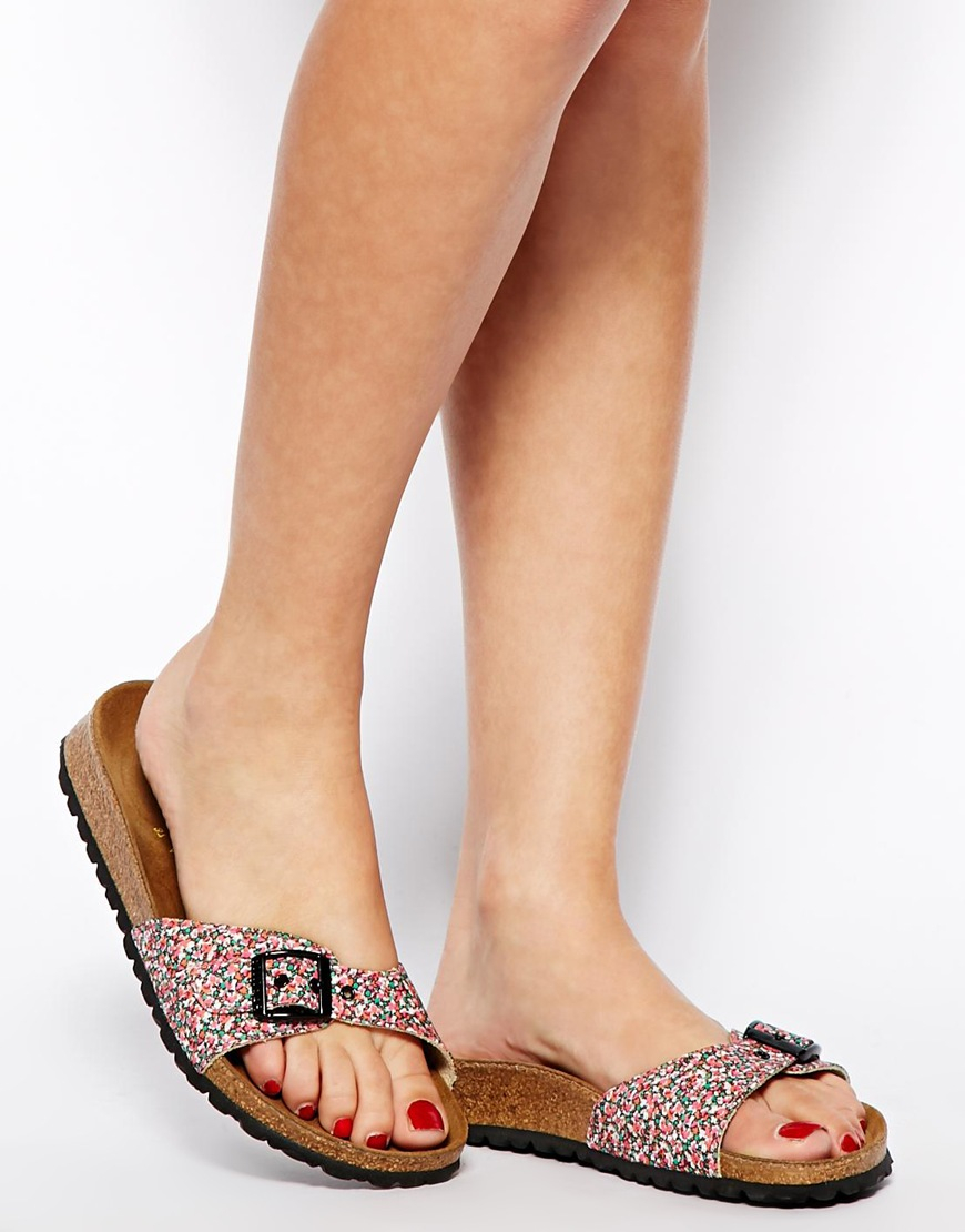 Birkenstock Papillio By Madrid Liberty Pepper Red Floral