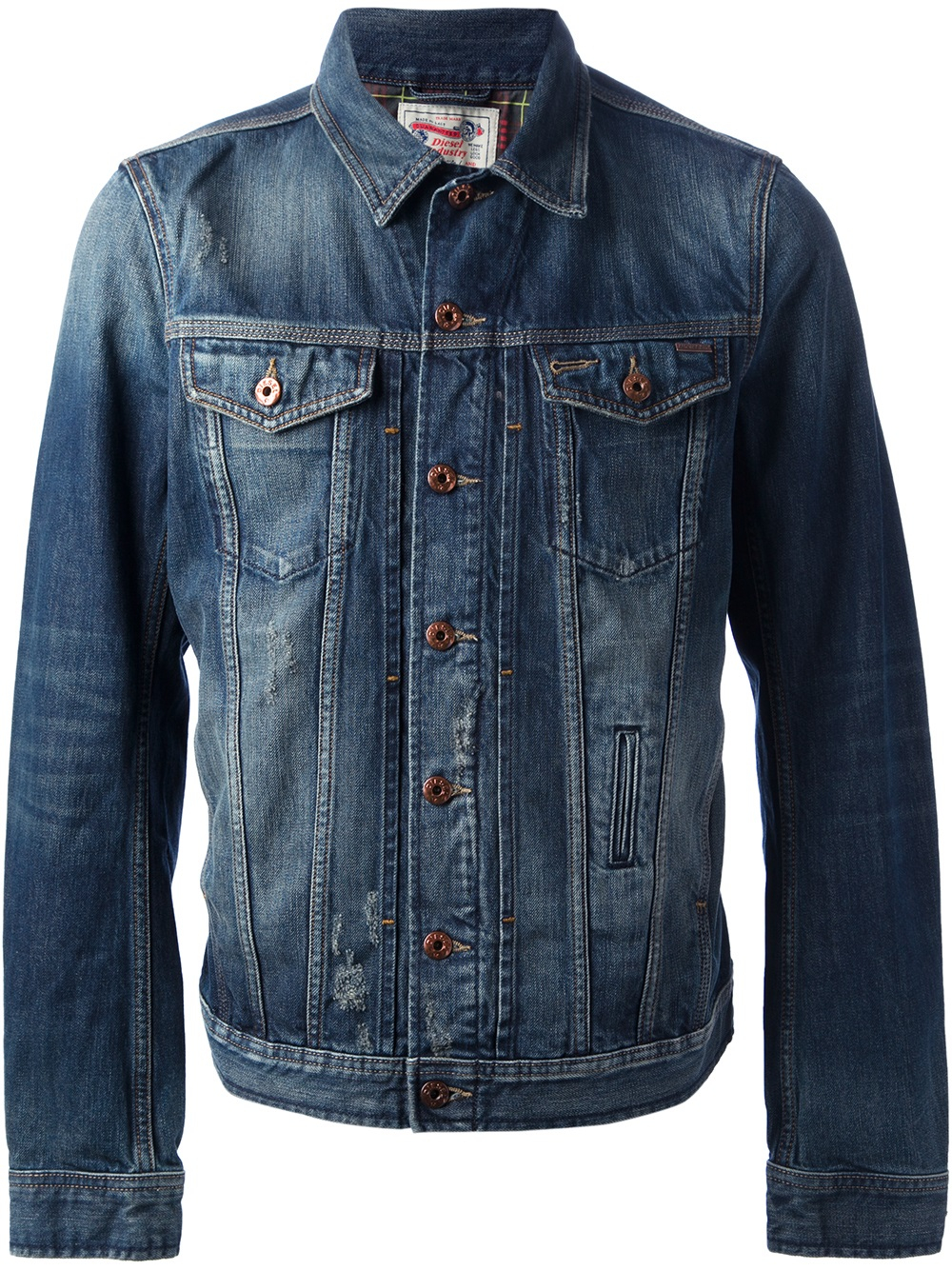 Diesel Denim Jacket in Blue for Men   Lyst