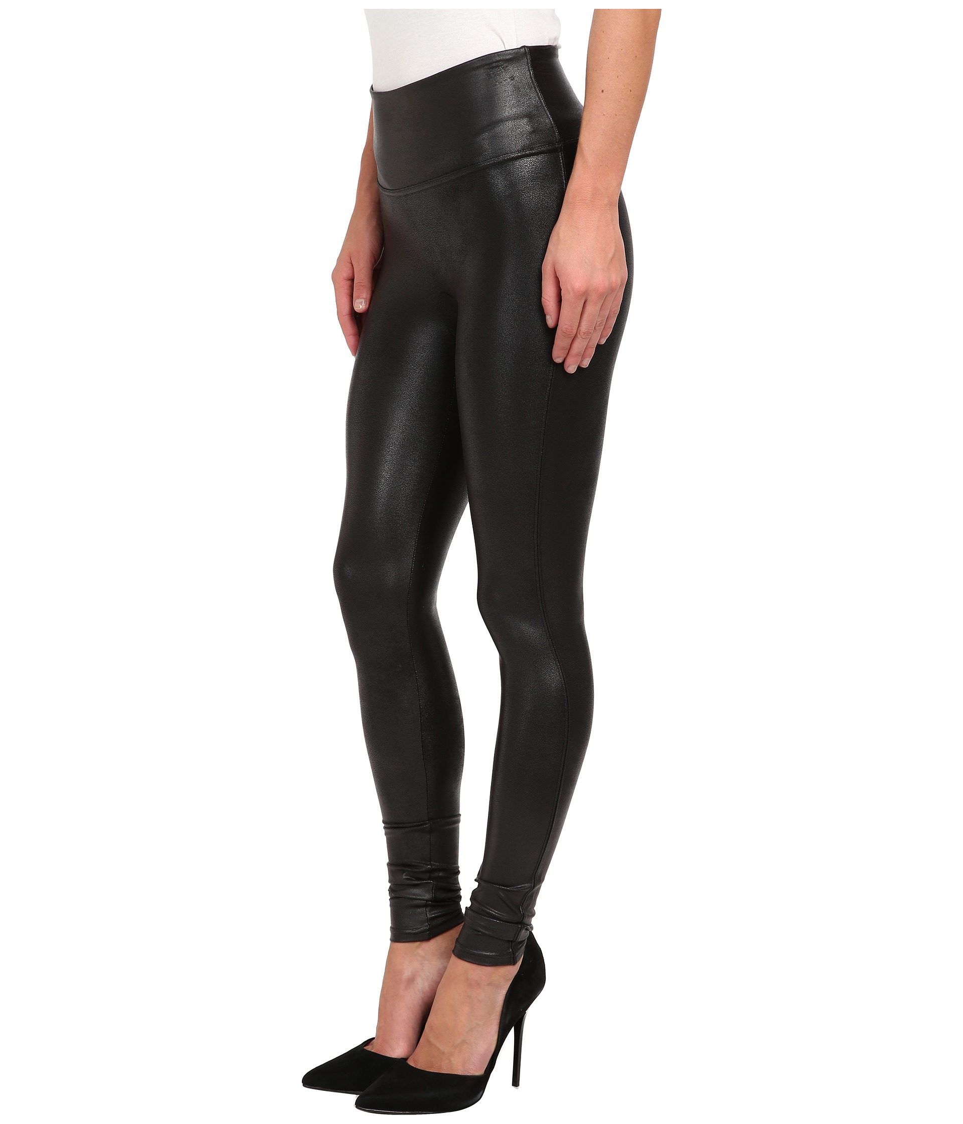 d3fb3bea293 Spanx Ready-to-wow!™ Faux Leather Leggings in Black