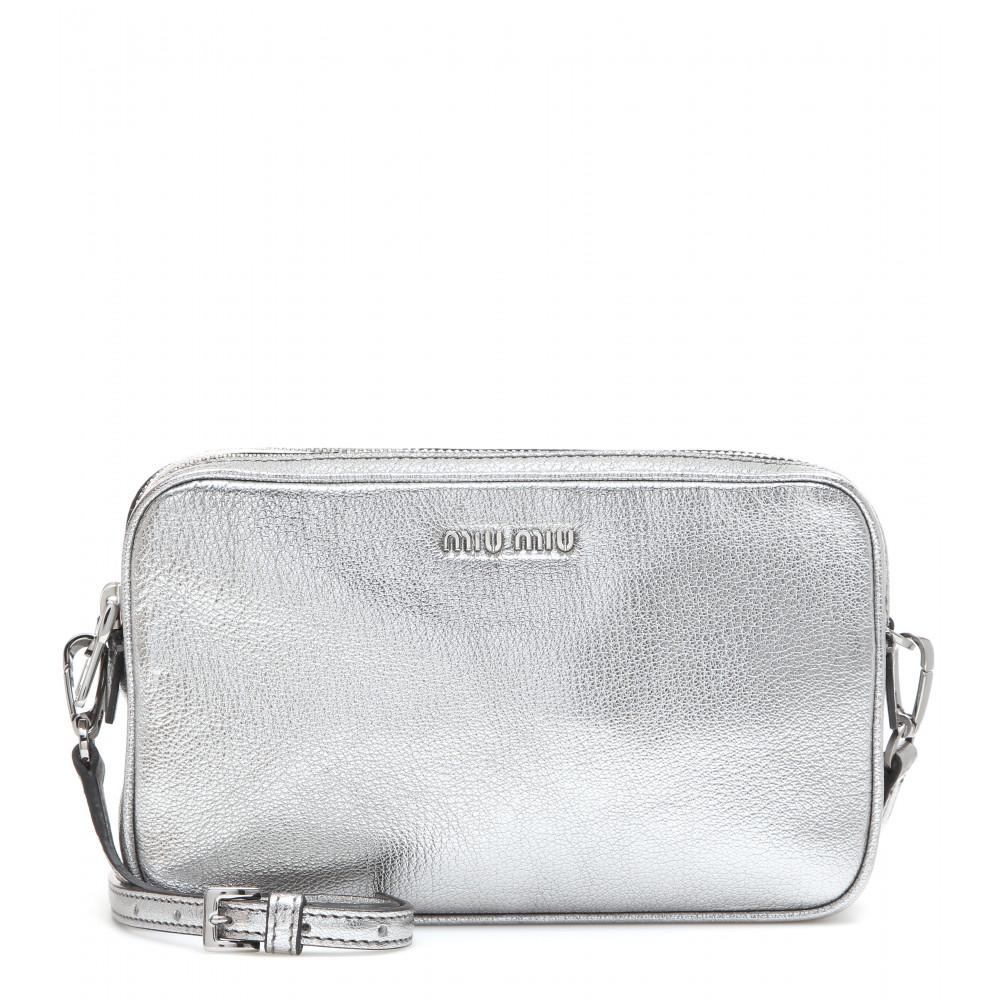 embellished shoulder bag - Metallic Miu Miu v8KZA