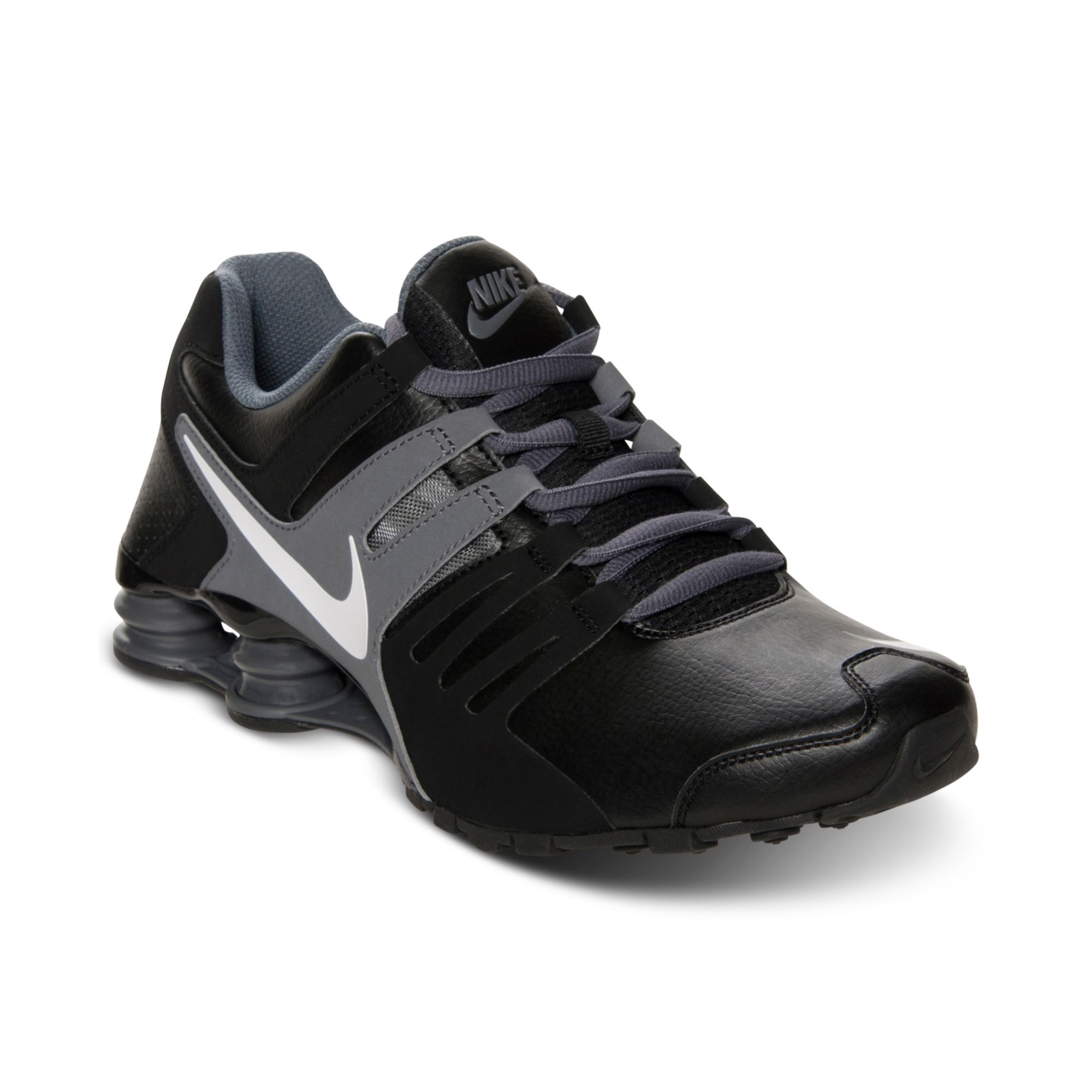 check out 36a63 4aa2a Lyst - Nike Mens Shox Current Running Sneakers From Finish Line in ...