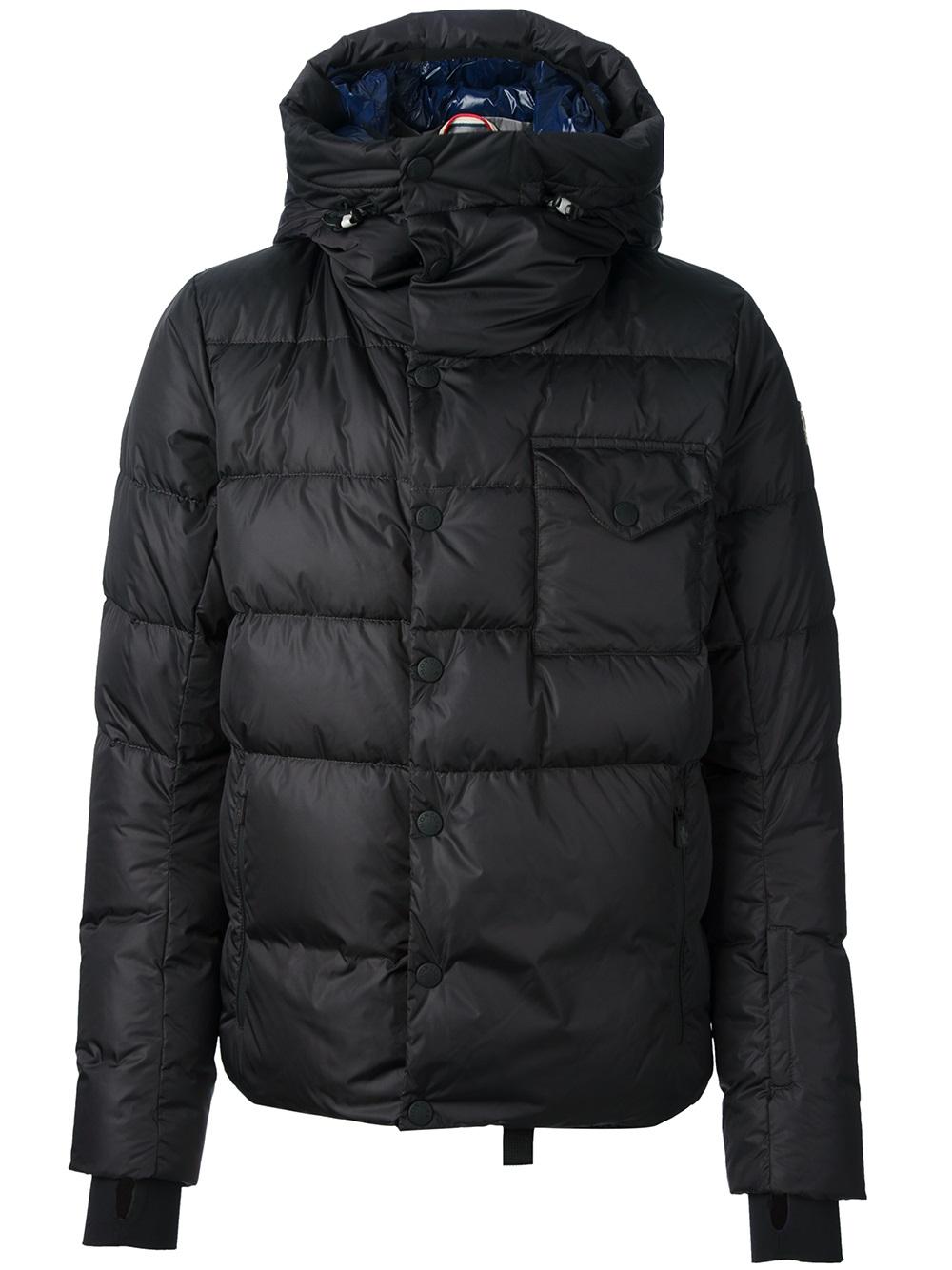 Lyst Moncler Grenoble Eggstock Padded Jacket In Black