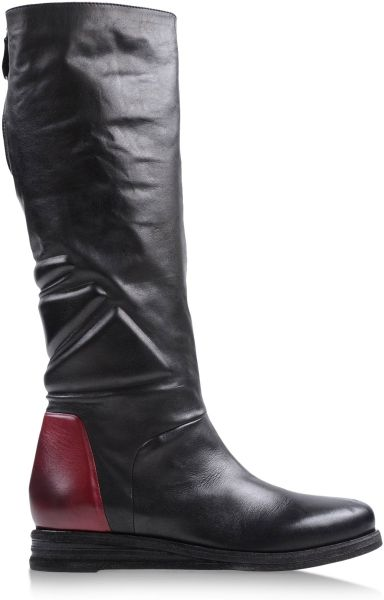 Vic Matie Tall Boots In Black Lyst