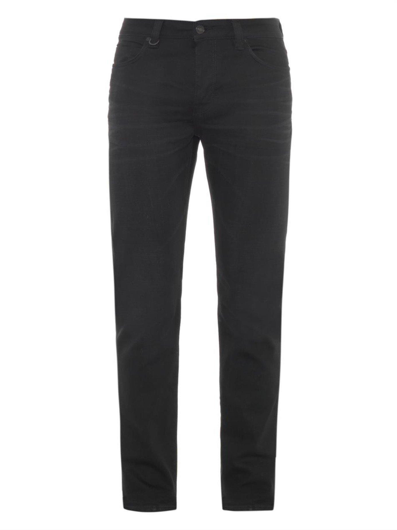 Neuw Iggy Black Rope Skinny-Leg Jeans in Black for Men | Lyst