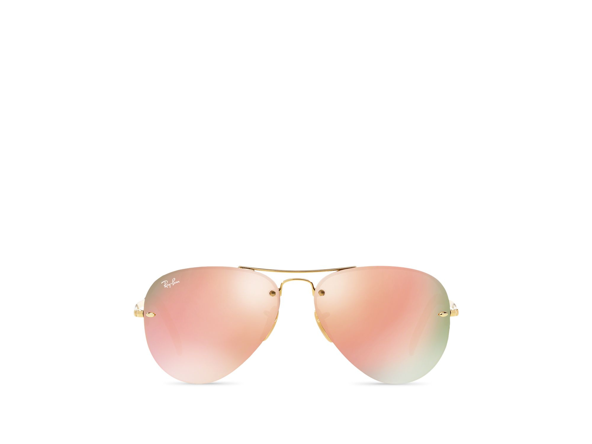 mirrored aviator sunglasses l7py  Gallery Previously sold at: Bloomingdale's 路 Women's Mirrored Sunglasses