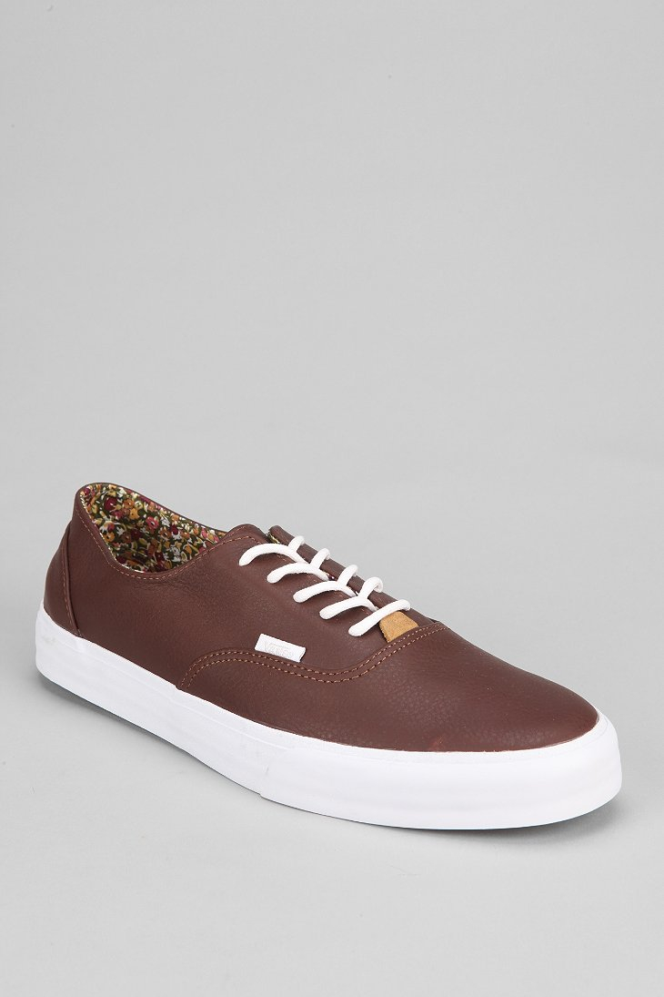 85767f4211 Lyst - Vans Era Decon California Nappa Mens Leather Sneaker in Brown ...