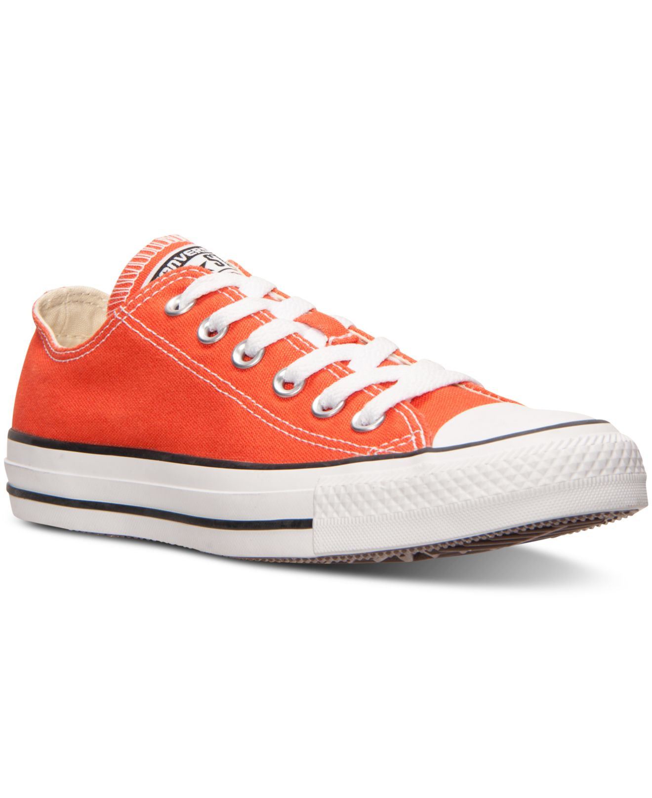 4d04e51a222b25 Lyst - Converse Women s Chuck Taylor Ox Casual Sneakers From Finish ...