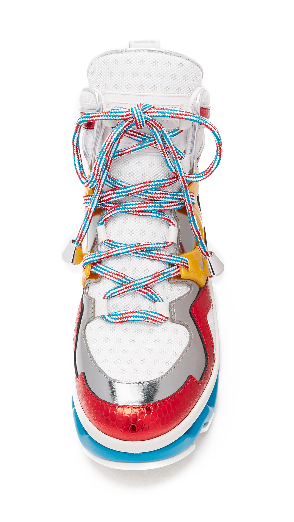 Marc By Marc Jacobs Ninja Wave High Top Sneakers In Red Lyst