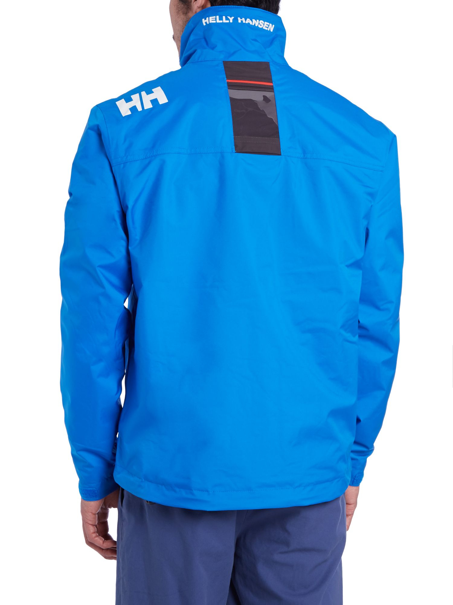 helly hansen crew midlayer jacket in blue for men lyst. Black Bedroom Furniture Sets. Home Design Ideas