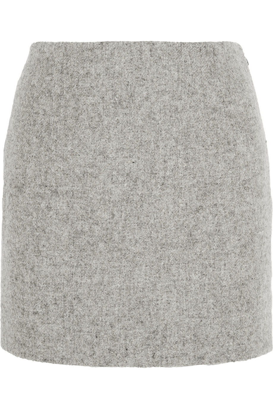 5732e94263 Atto Wool Mini Skirt in Gray - Lyst