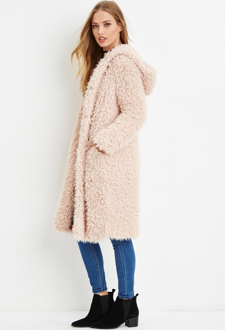 3b4e4a0a0c56 Embellished Faux Fur Coat. Images Of Forever 21 Jackets And Coats Best  Fashion Trendodels
