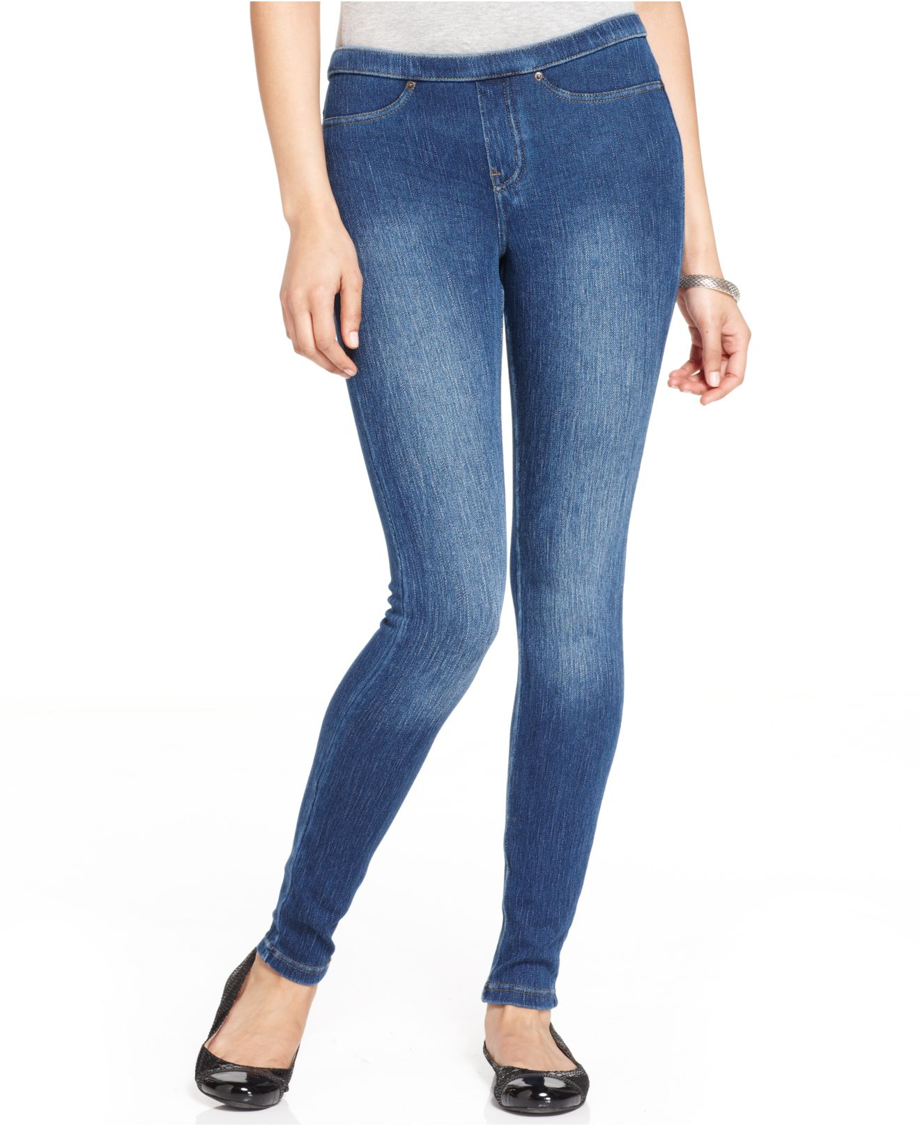 7fd2b61228c71 Hue original denim bootcut leggings – Super Jeans in dieser Saison