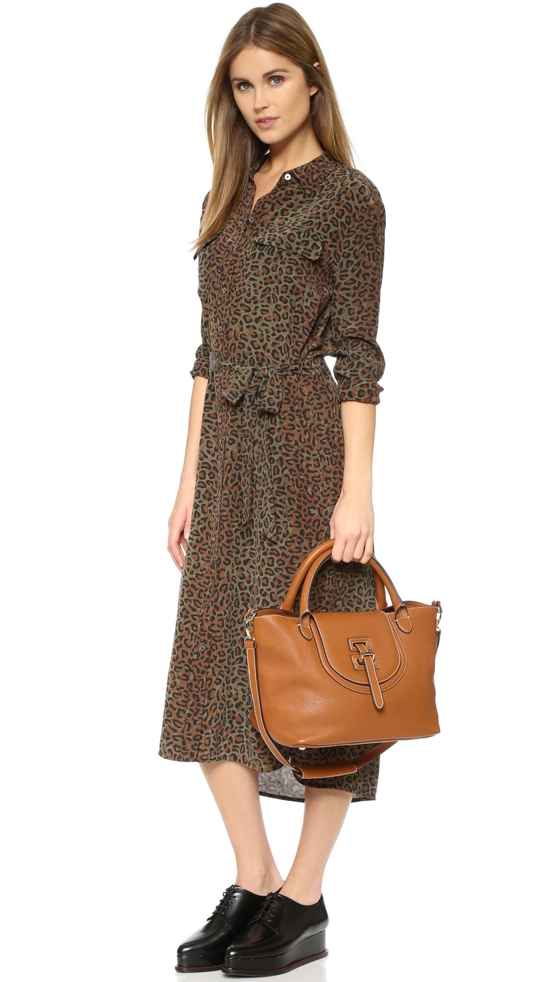 meli melo halo medium bag in brown lyst. Black Bedroom Furniture Sets. Home Design Ideas