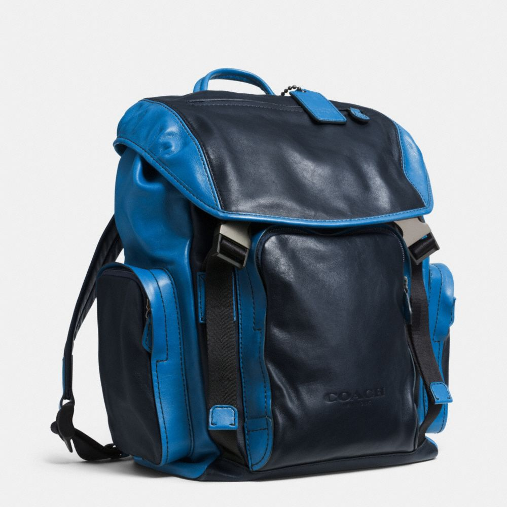 Lyst Coach Sport Backpack In Leather In Black For Men