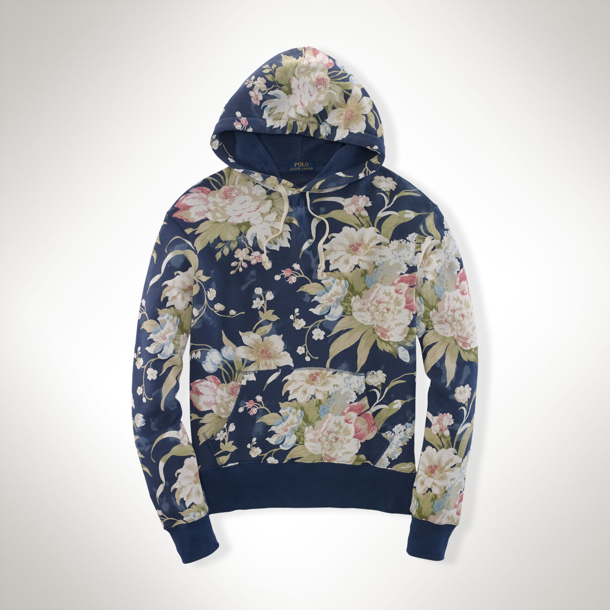 c680e97d76 ... germany polo ralph lauren floral cotton terry hoodie in blue for men  lyst c671a 15bd1