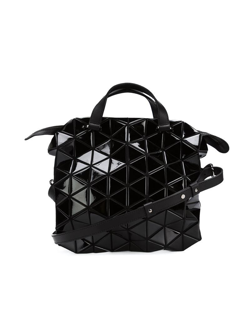 Bao Bao Issey Miyake Tonneau Cross-body Bag in Black - Lyst b237fe8a796da