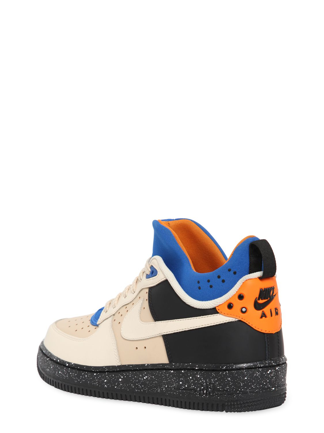 lyst nike air force 1 cmft mowabb sneakers in natural. Black Bedroom Furniture Sets. Home Design Ideas