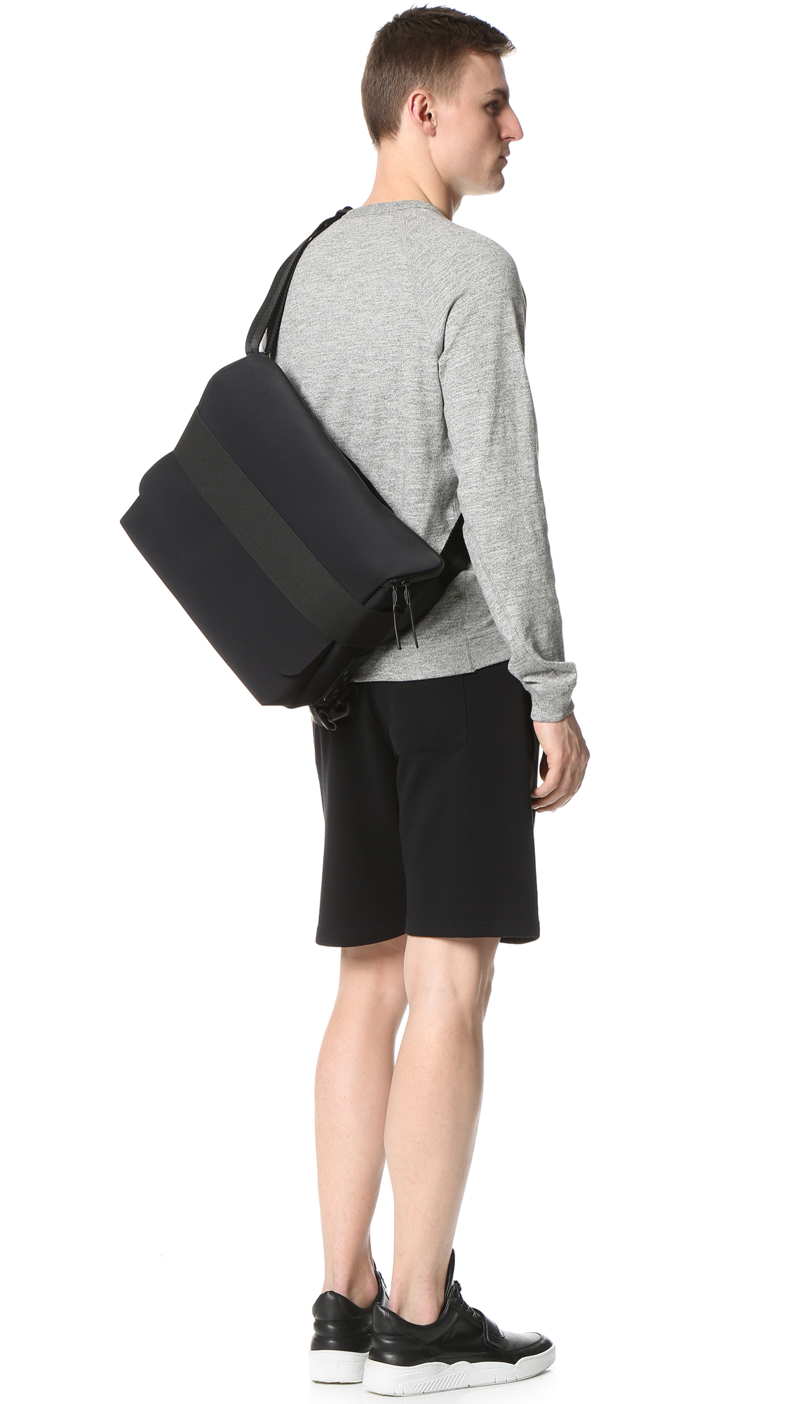 fcd2a6e50830 Lyst - Y-3 Qasa Messenger Bag in Black for Men
