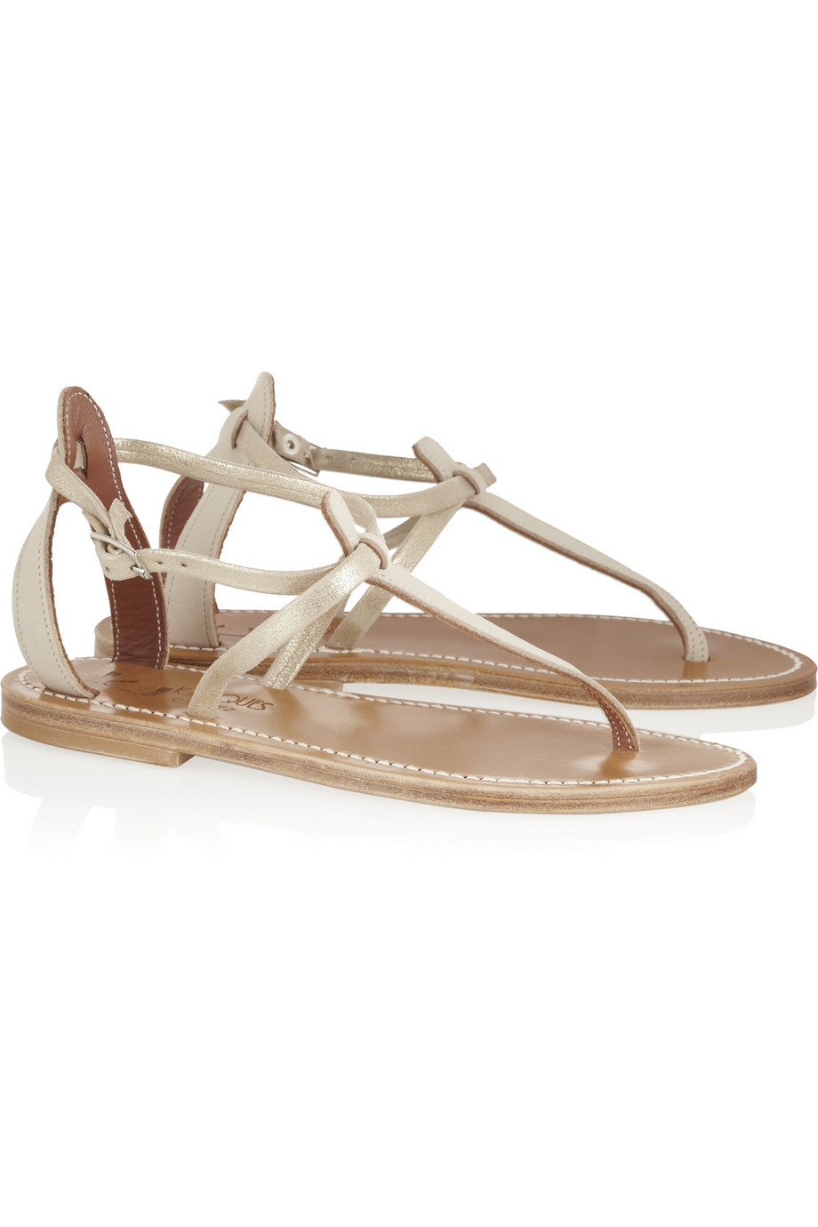Discount New Arrival K jacques Buffon Leather Sandals Discount Lowest Price IXmRGYz