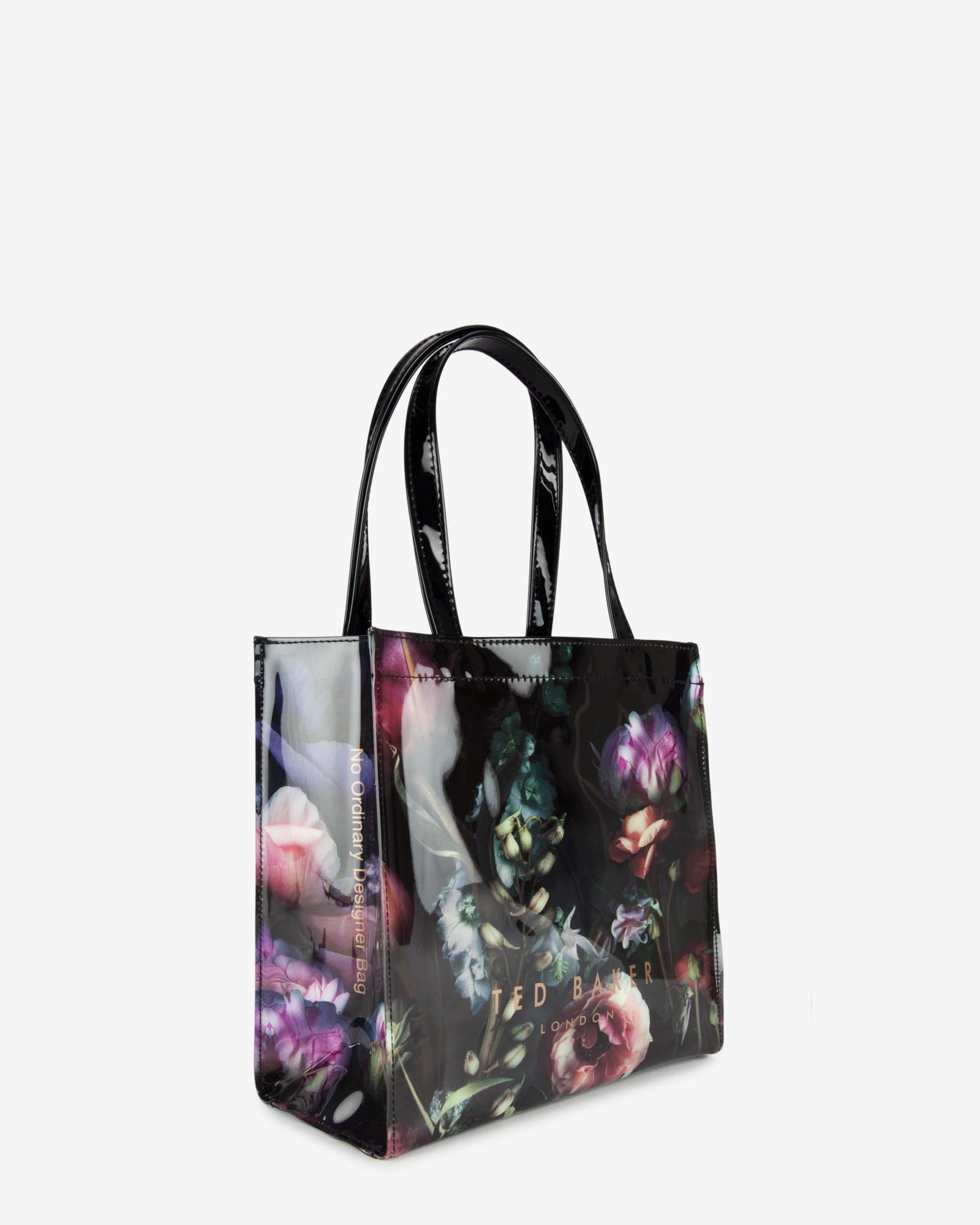 9827cabcb4a62 Lyst - Ted Baker Shadow Floral Print Shopper Bag